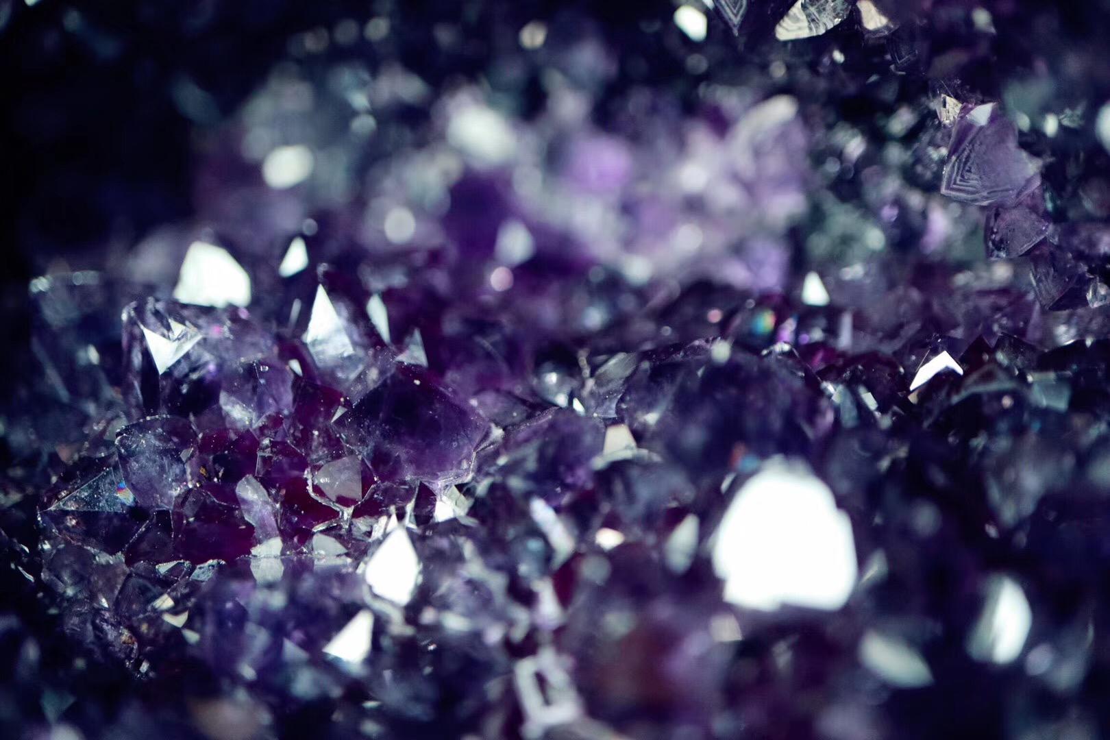 【紫晶洞】奉上一款智慧之眼紫晶洞,令你明心静气-菩心晶舍