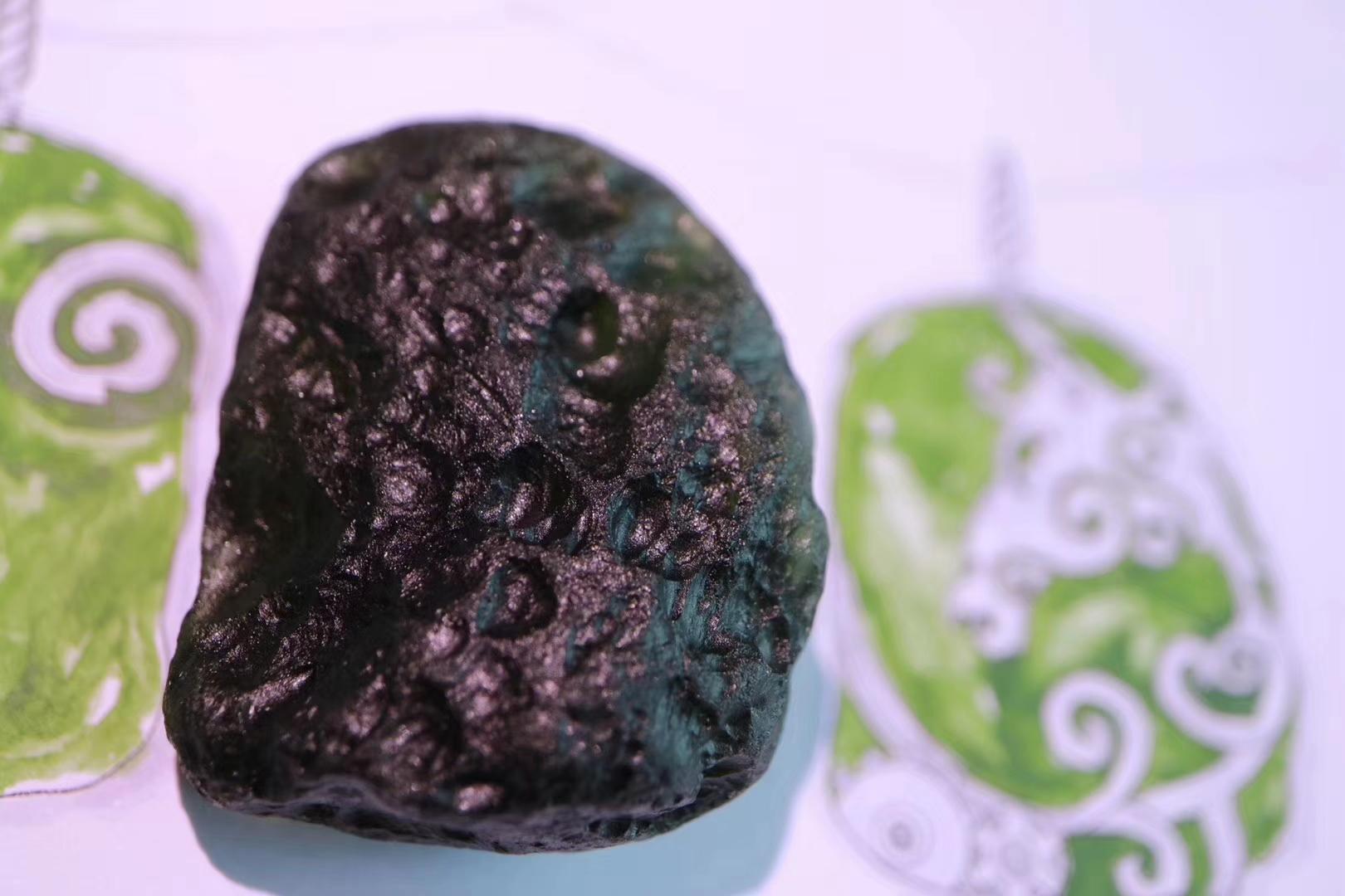 【捷克陨石】独角兽,代表着内在美好的自己-菩心晶舍