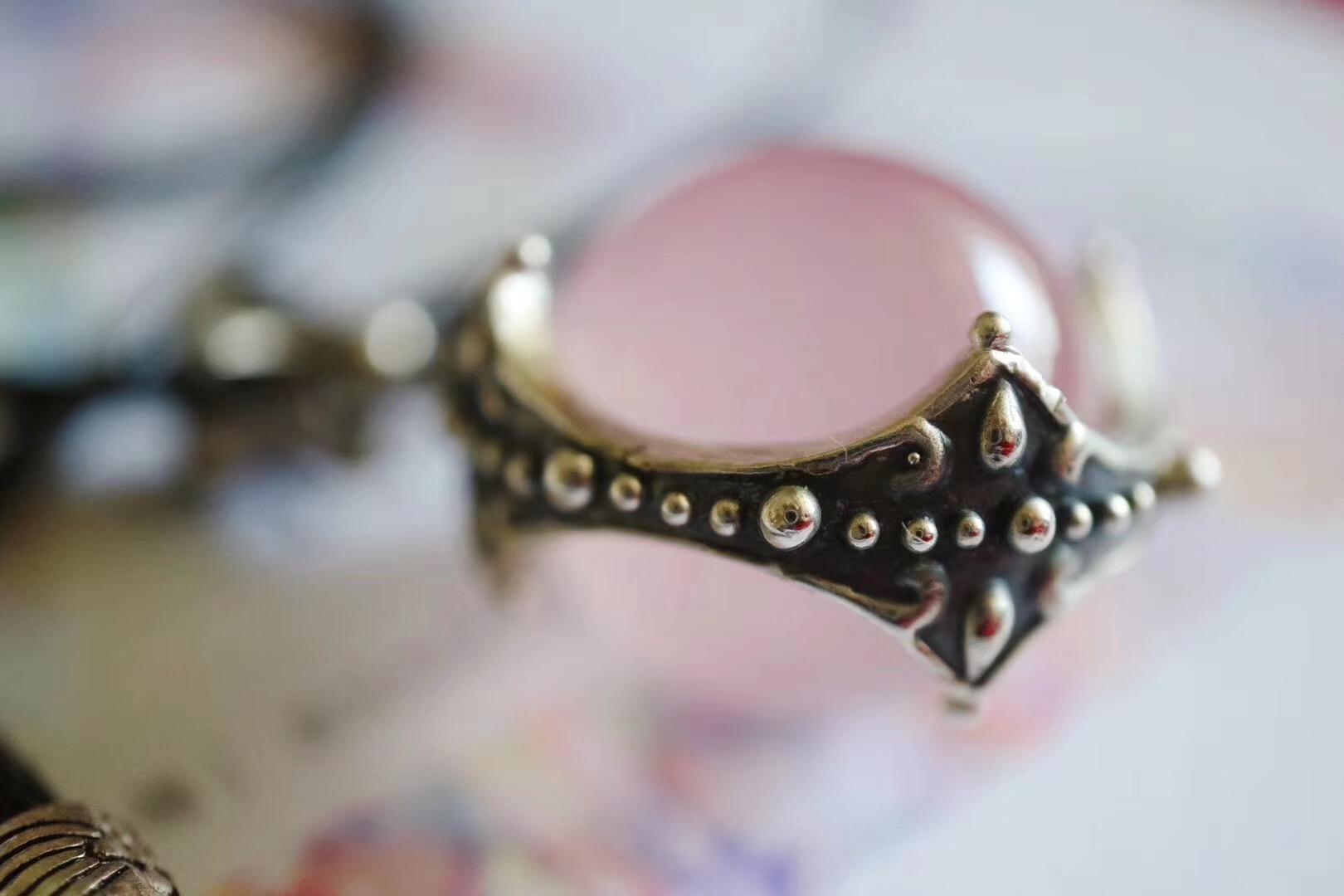 【粉晶】奉上一枚粉晶转运大珠珠~~粉晶-菩心晶舍