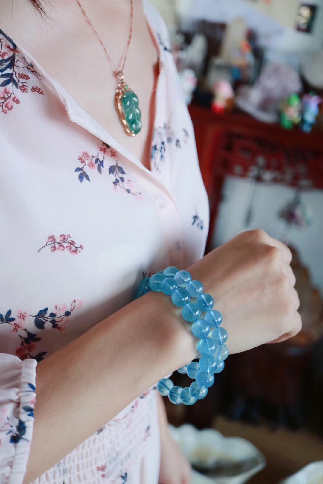 【海蓝宝】海蓝宝是拥有大海灵魂之美的晶石-菩心晶舍