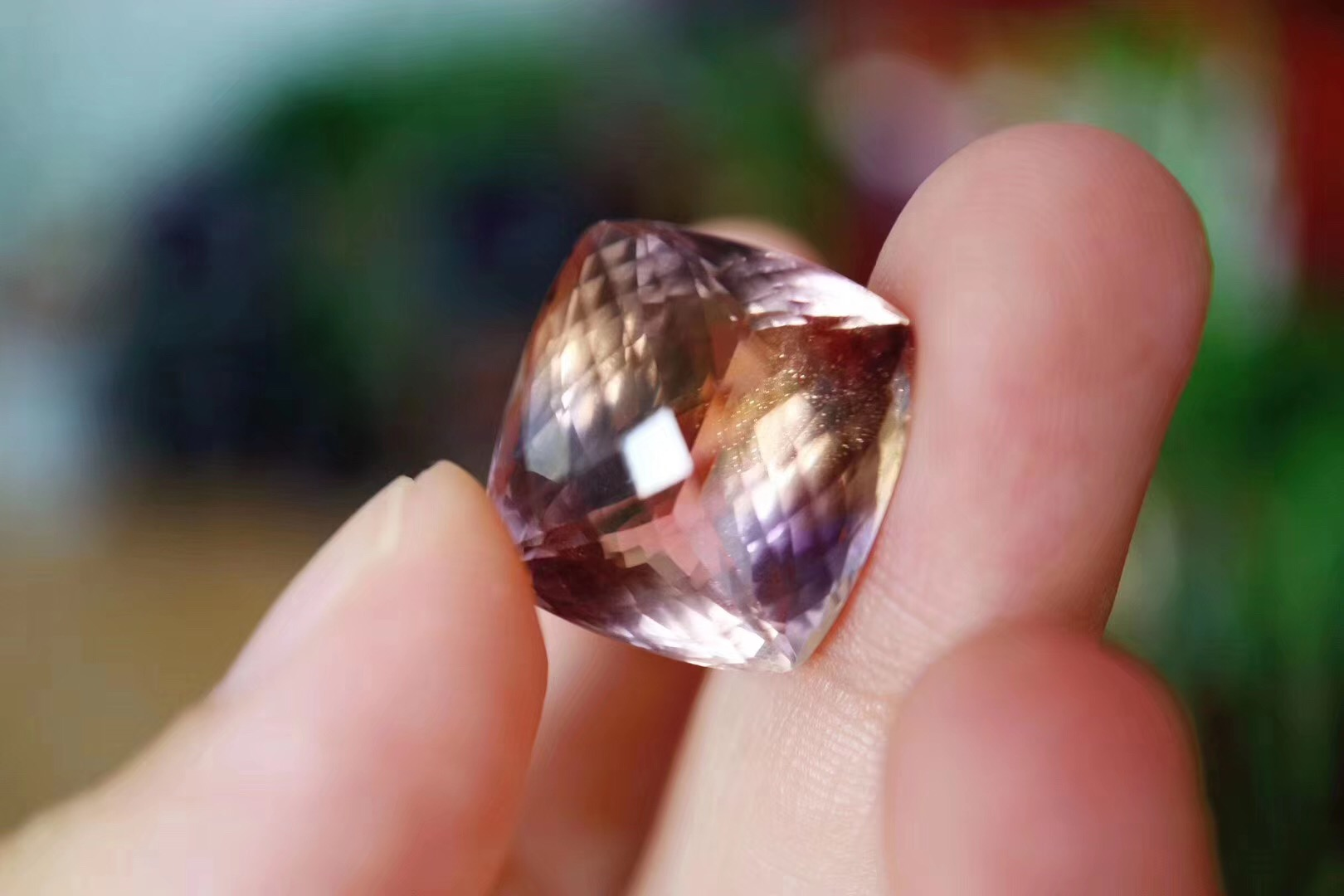 【紫黄晶】镜子真是件很伟大的发明-菩心晶舍