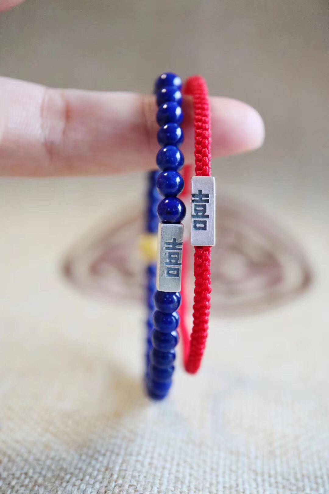 【帝王青&红绳】这一对极致细链.我看着,就欢喜万分-菩心晶舍