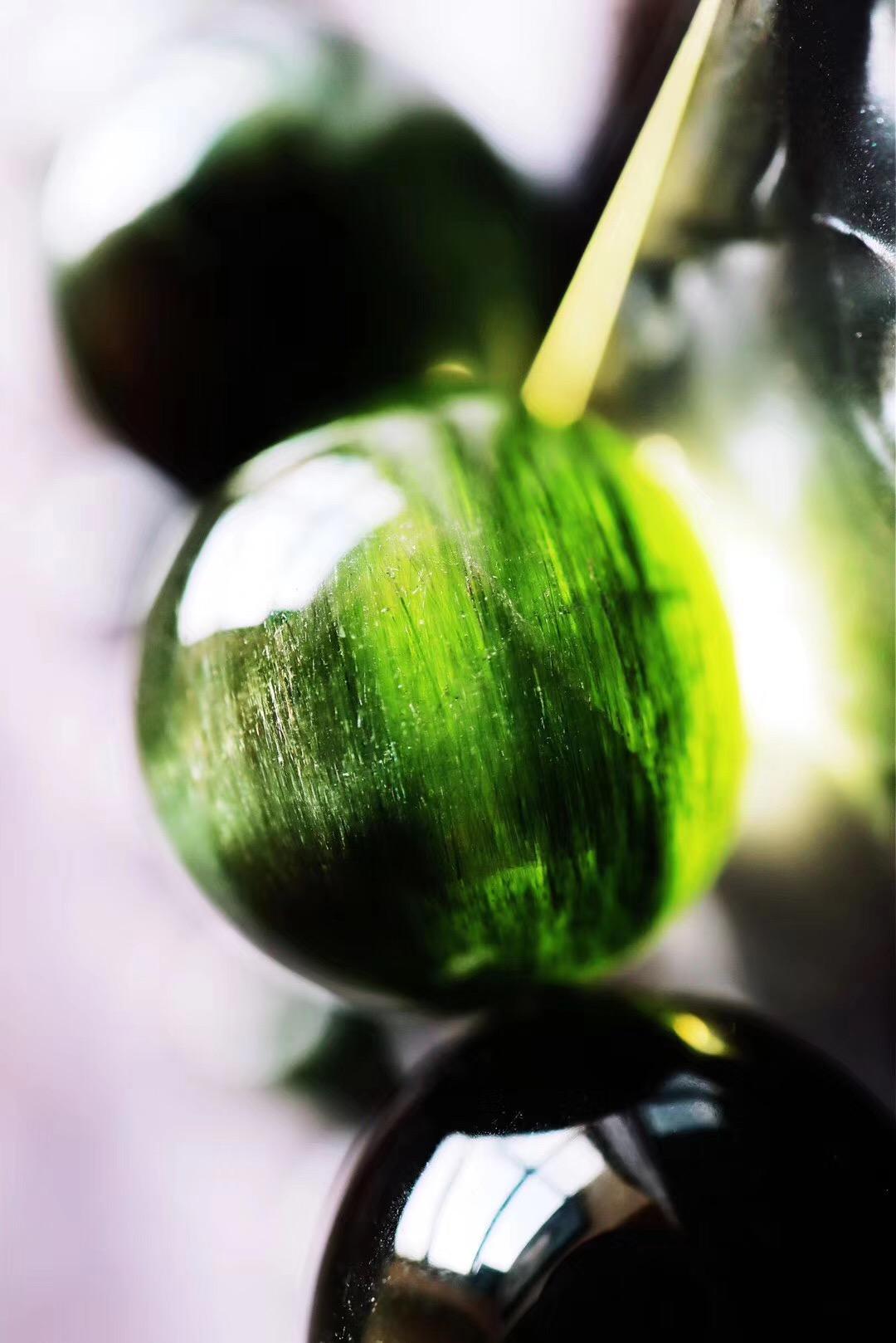 【绿发晶】收藏级绿发晶,缓解暴脾气-菩心晶舍
