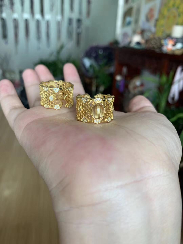 【钛晶蕾丝💍】宝石级的板钛晶裸石魅力无限-菩心晶舍