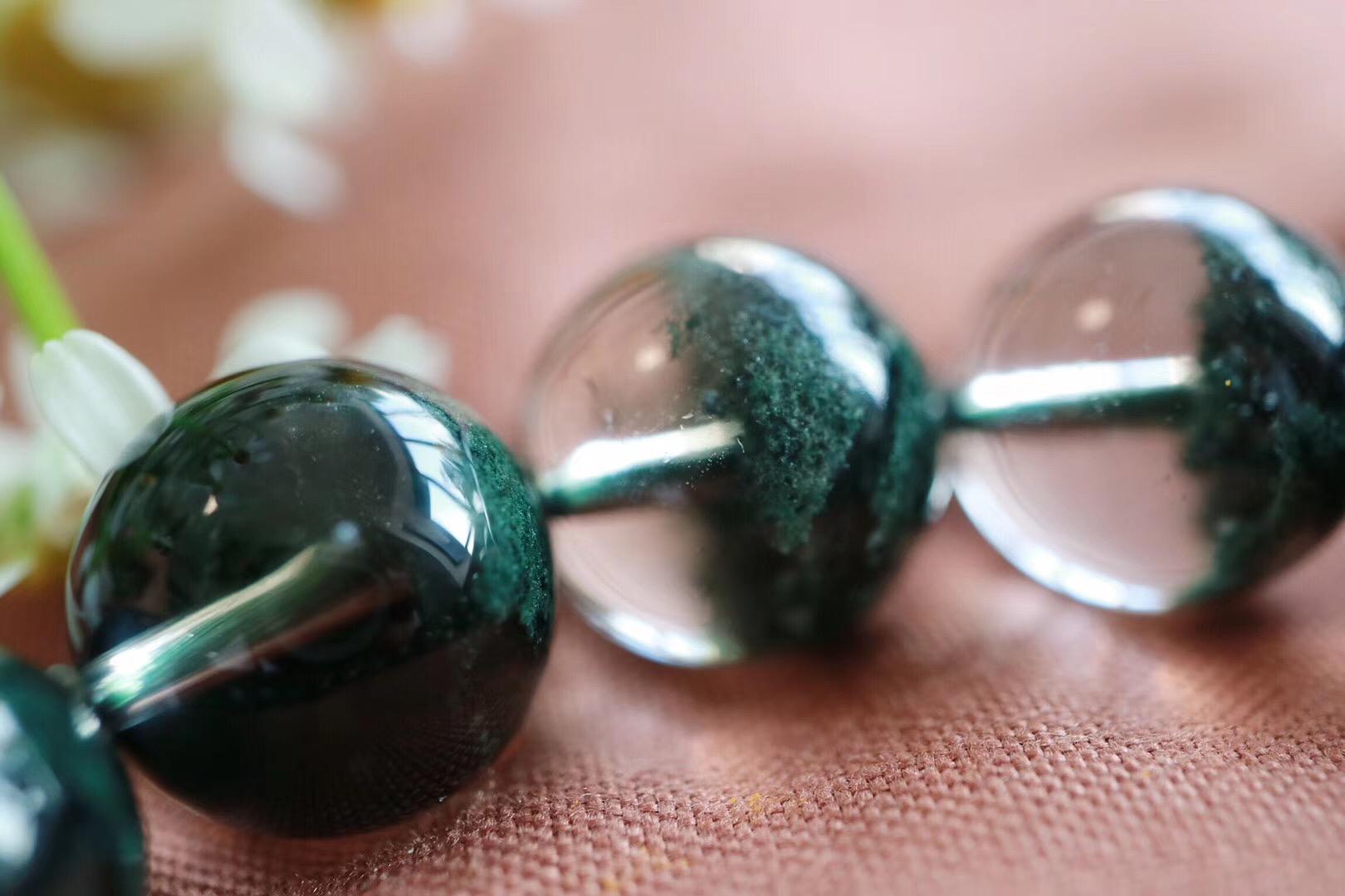 【绿幽灵聚宝盆】一抹绿代表着大地的能量对心轮深深的疗愈-菩心晶舍