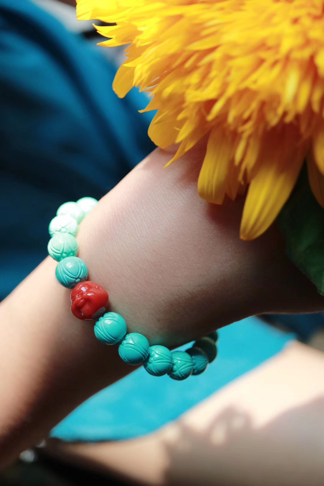 【绿松石&南红玛瑙】与山水为伴,与日月同欢-菩心晶舍