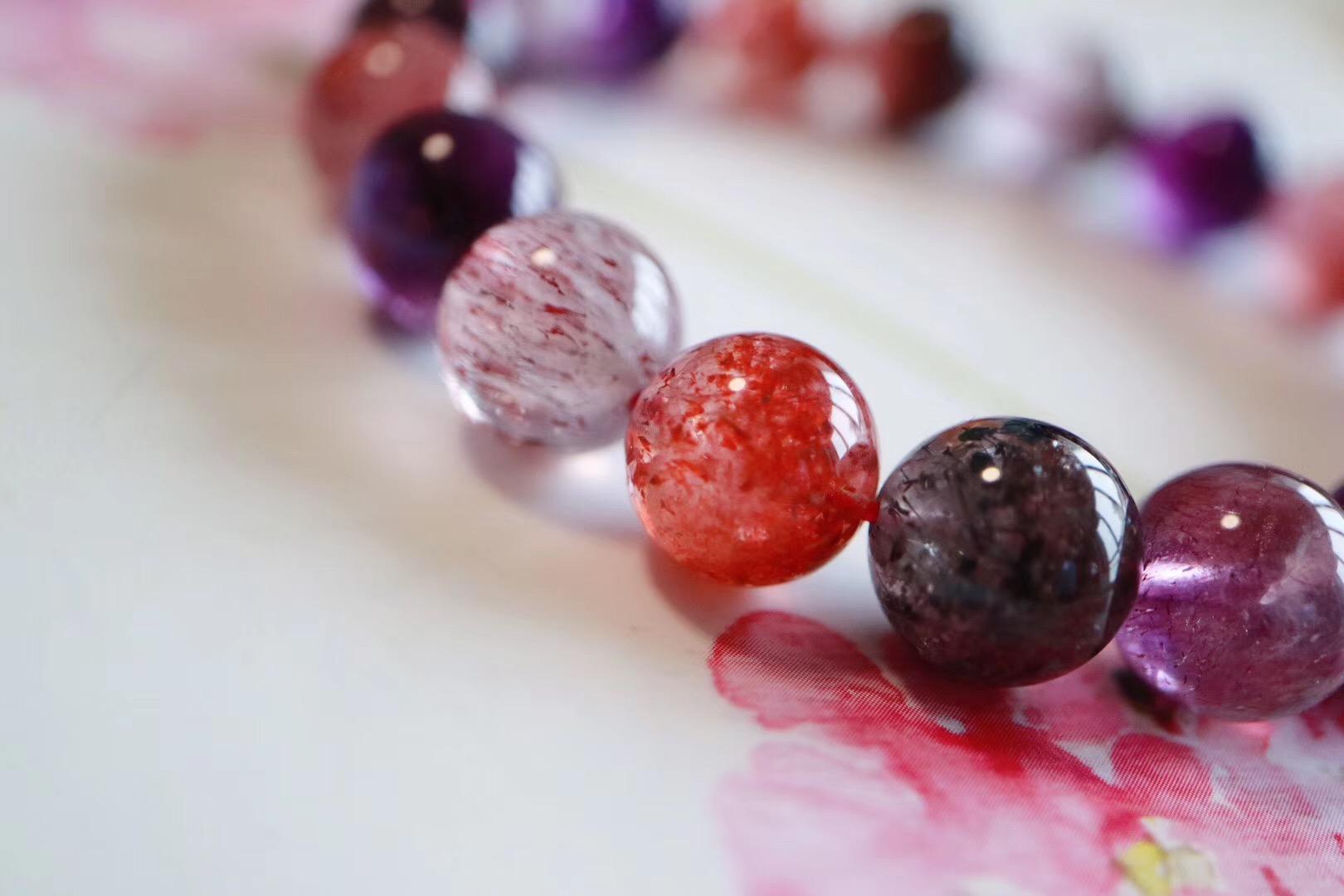 【紫发晶】能刺激、愈合、平衡人体所有七大脉轮-菩心晶舍