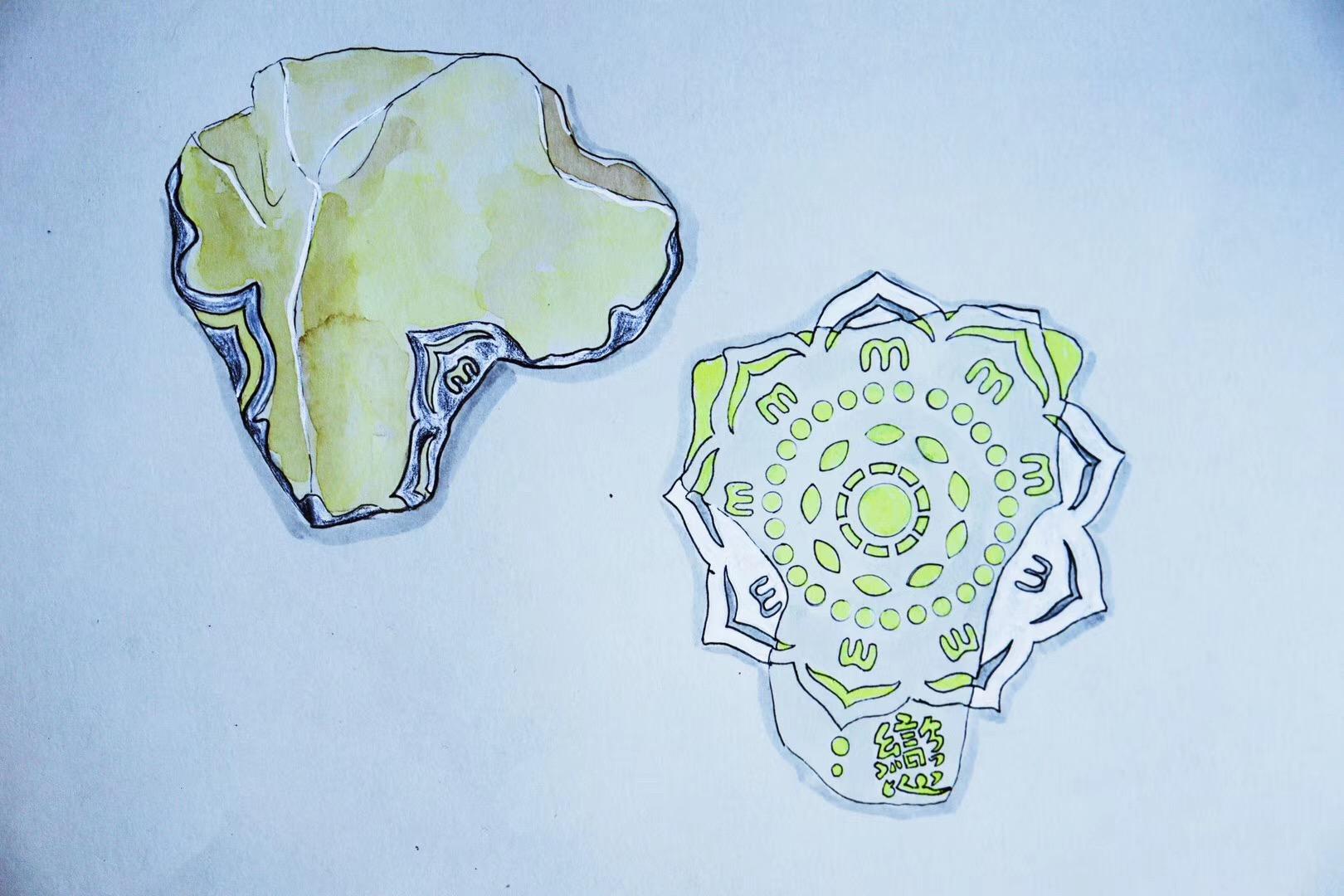利比亚黄金陨石是什么?在古埃及利比亚陨石象征:能量石-菩心晶舍