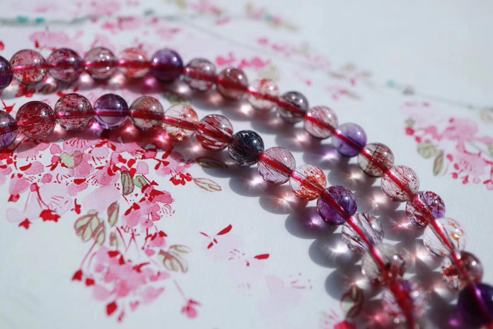 【极品紫发晶】紫发晶可助安神,带来诸多灵感-菩心晶舍