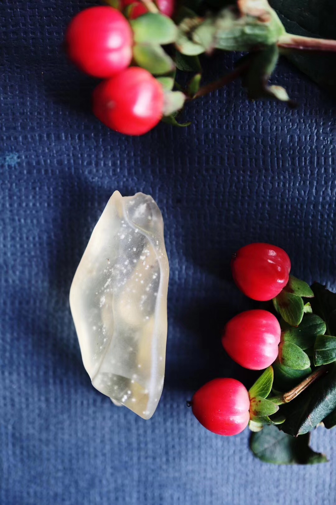 【利比亚陨石】阿德维拉,代表着奉献、纯净和对神的信仰-菩心晶舍