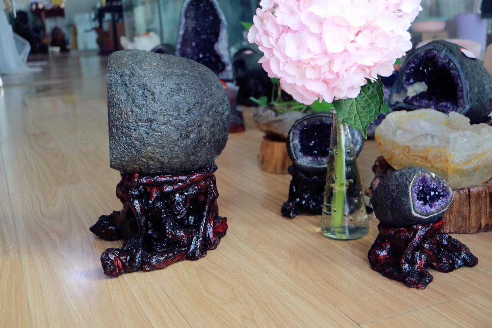 【紫晶洞】高档紫晶洞,家家必备,福地居福人-菩心晶舍