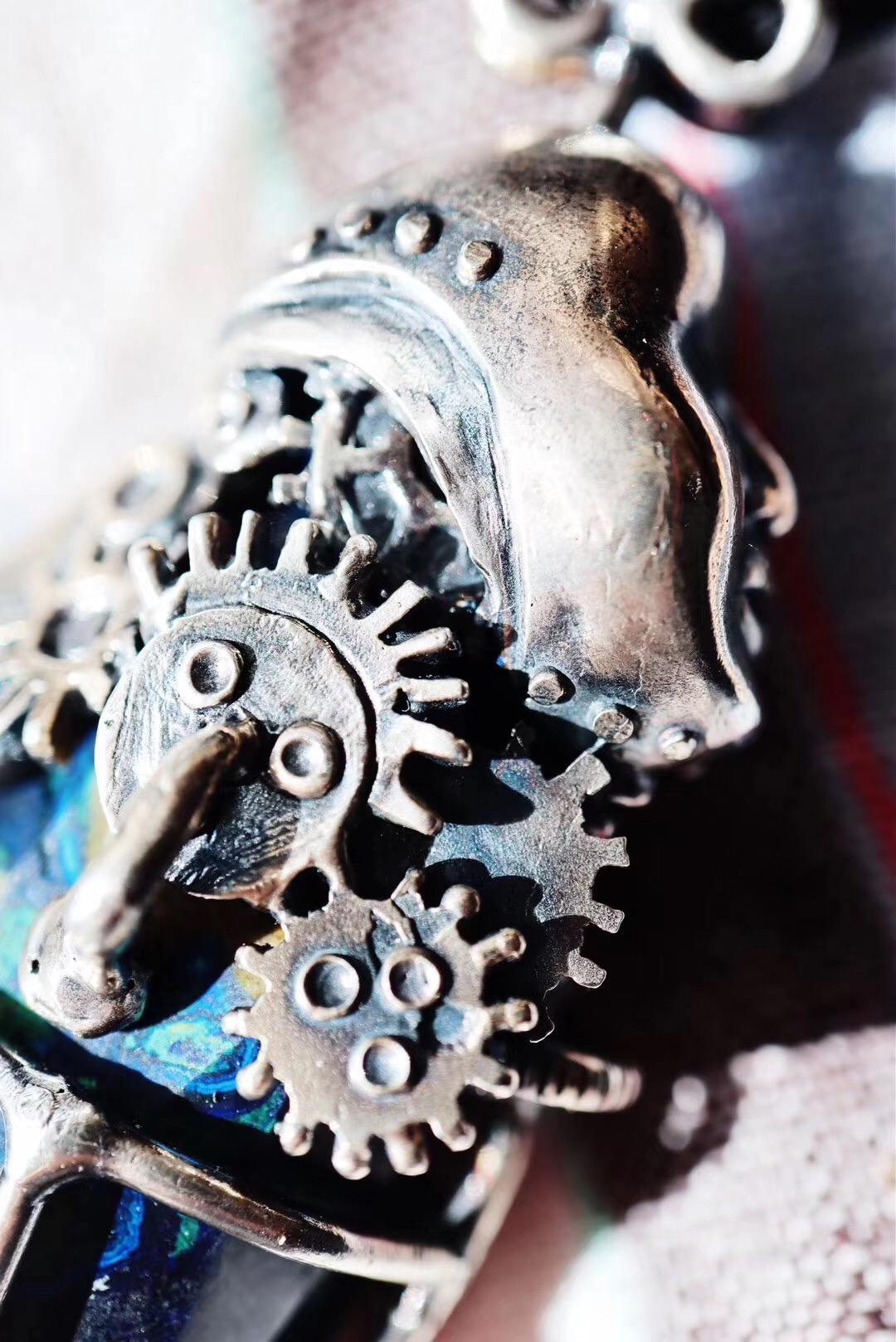 【蓝铜矿】听说,萌妹子都喜欢机械风~~-菩心晶舍