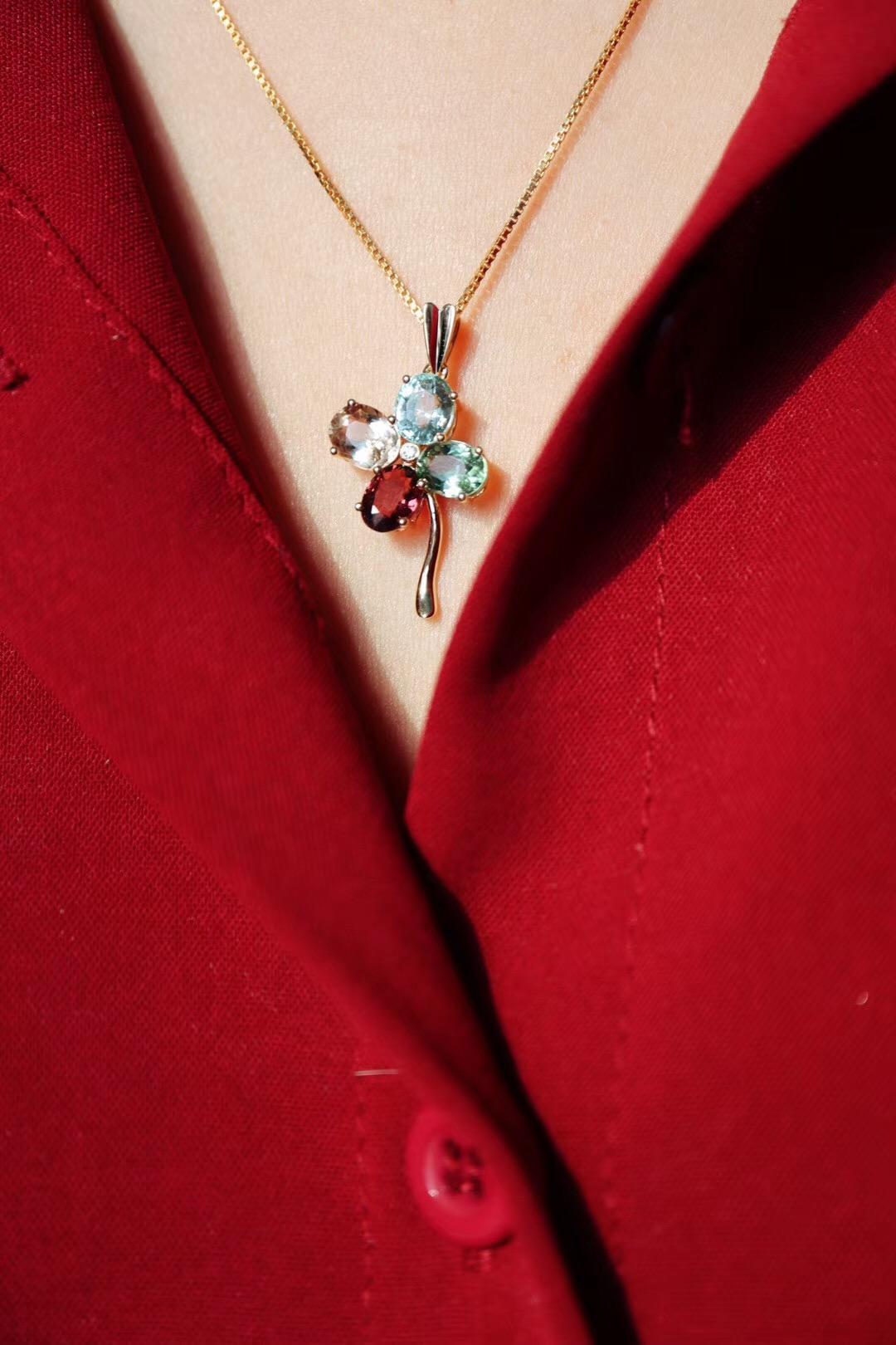 【碧玺&四叶草】在十一月里藏好来自十月的浪漫-菩心晶舍