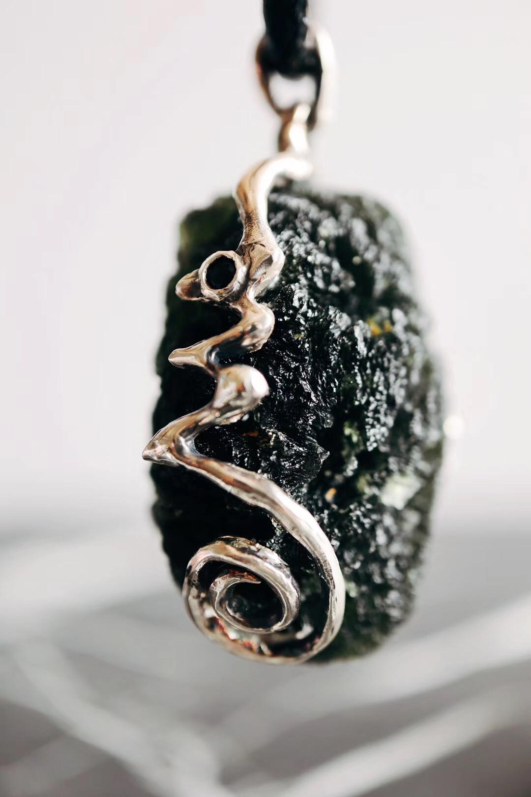 【捷克陨石&双面镶嵌】激活人脑里的松果体,便可开启第三眼-菩心晶舍