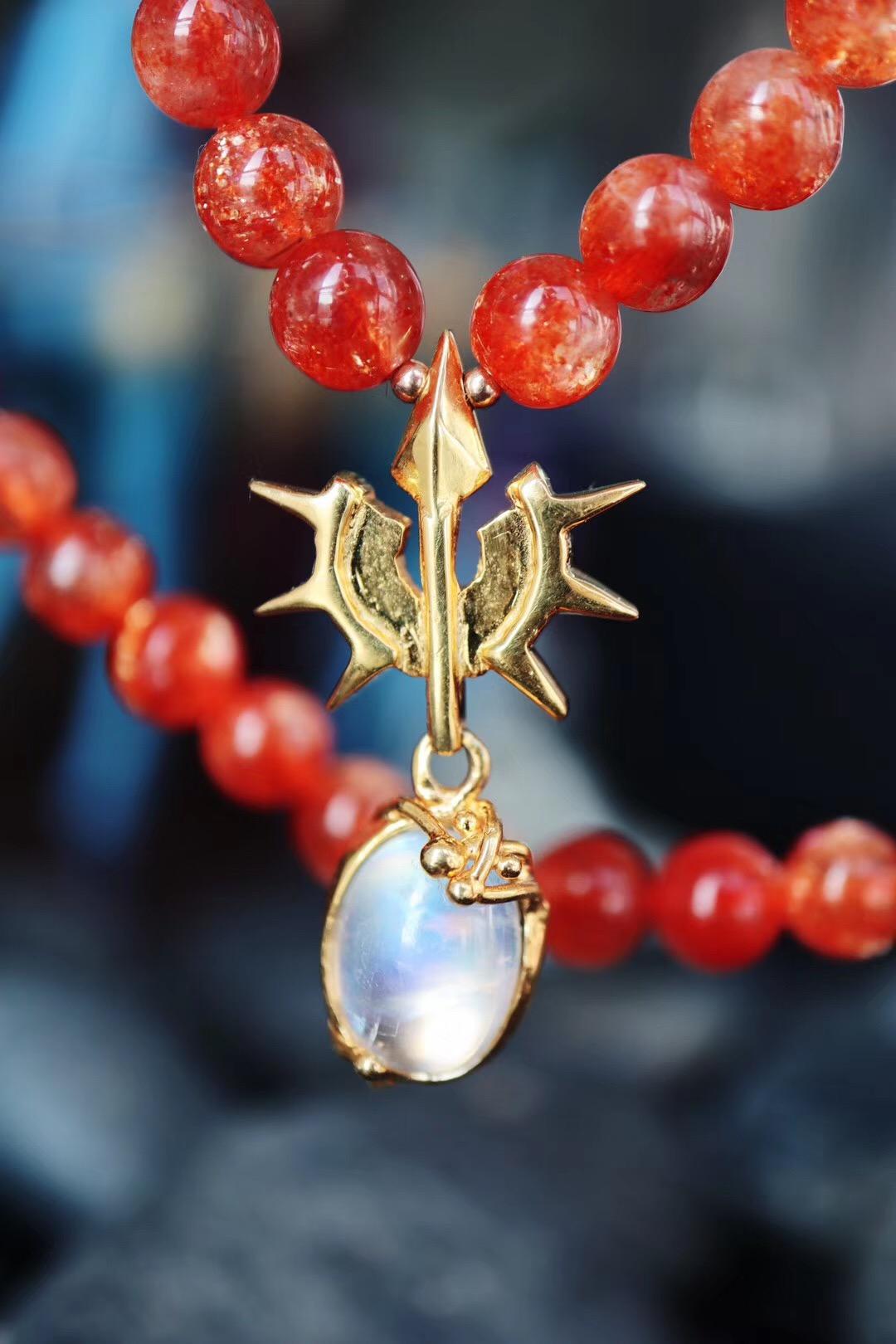 【收藏级月光石&太阳石】若非日月同辉,谁敢说比这场相遇更美-菩心晶舍