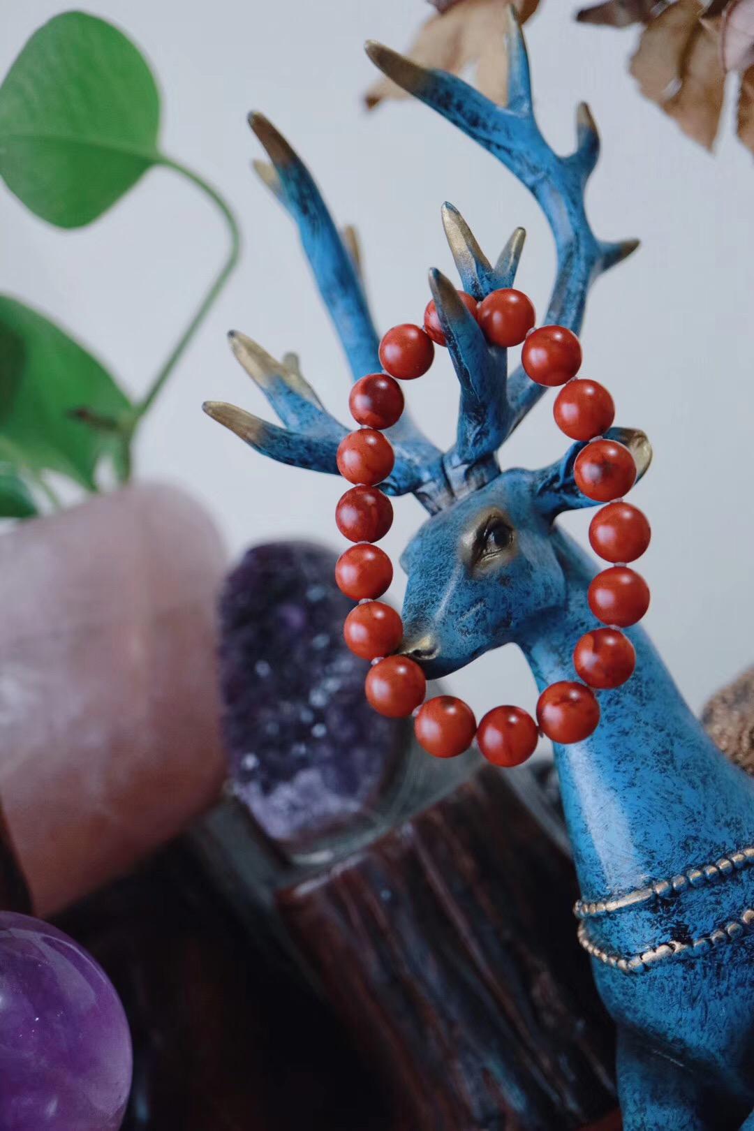 【包浆南红玛瑙】一抹岁月红,几多风情骨~-菩心晶舍