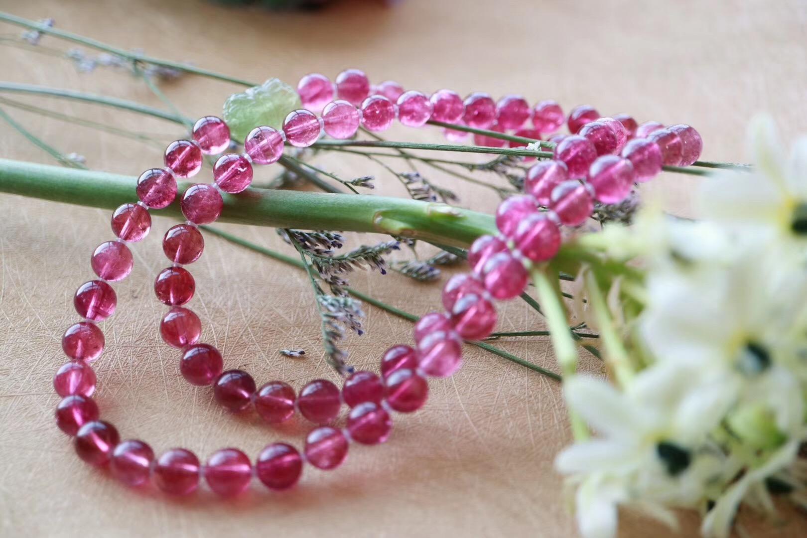 【红碧玺】提升女性魅力,塑造温馨甜蜜的气场-菩心晶舍