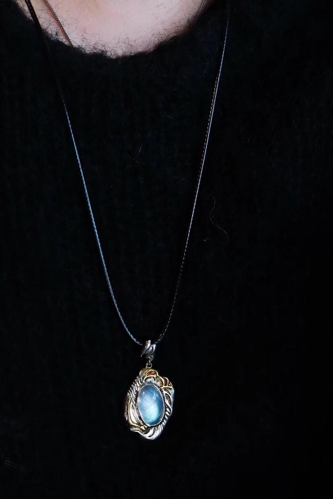 【月光石】奉上这一枚小而精致的月光石-菩心晶舍