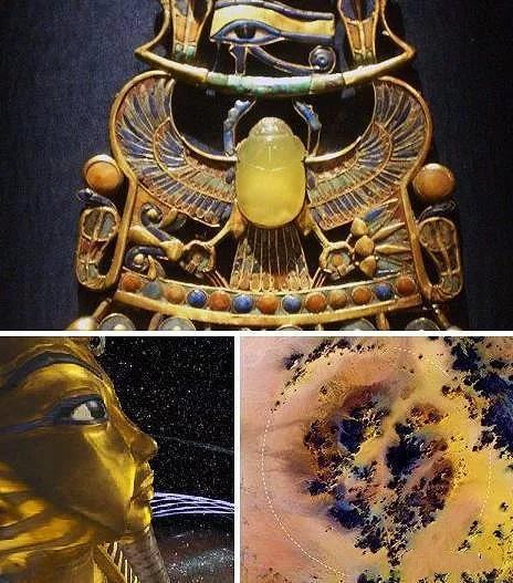 了解神秘的利比亚黄金陨石,看图识别真假利比亚黄金陨石-菩心晶舍