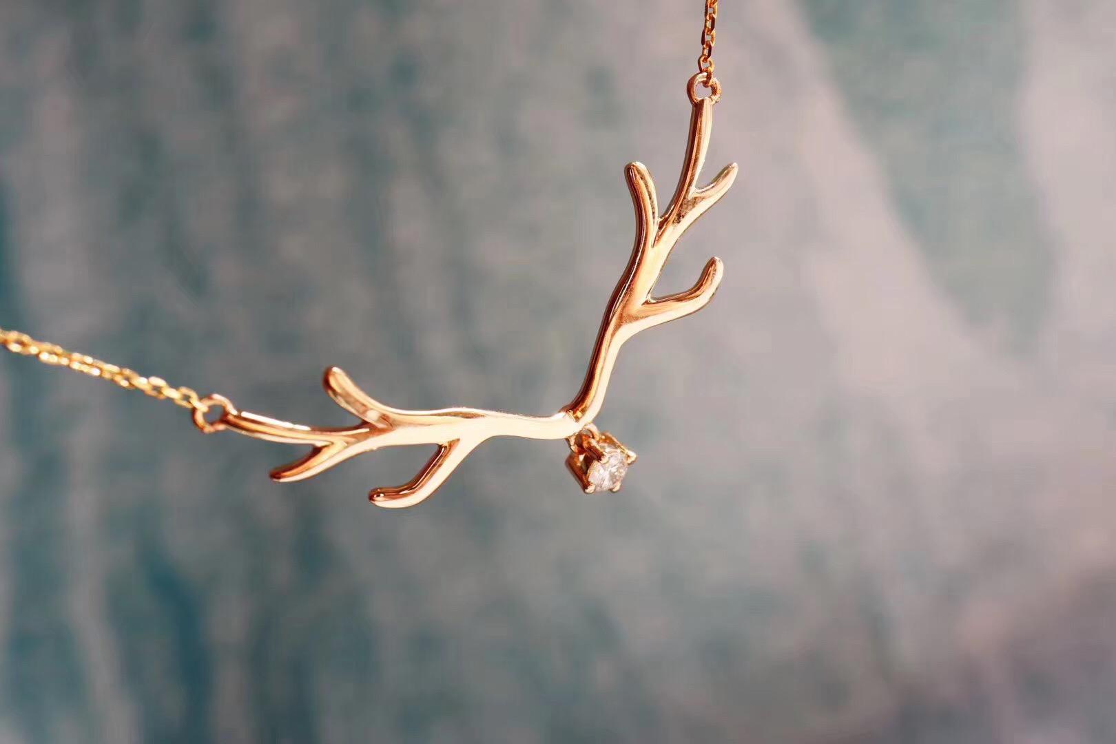 【钻石锁骨链&客订】妈咪送女儿的一路有你~感恩拥有-菩心晶舍