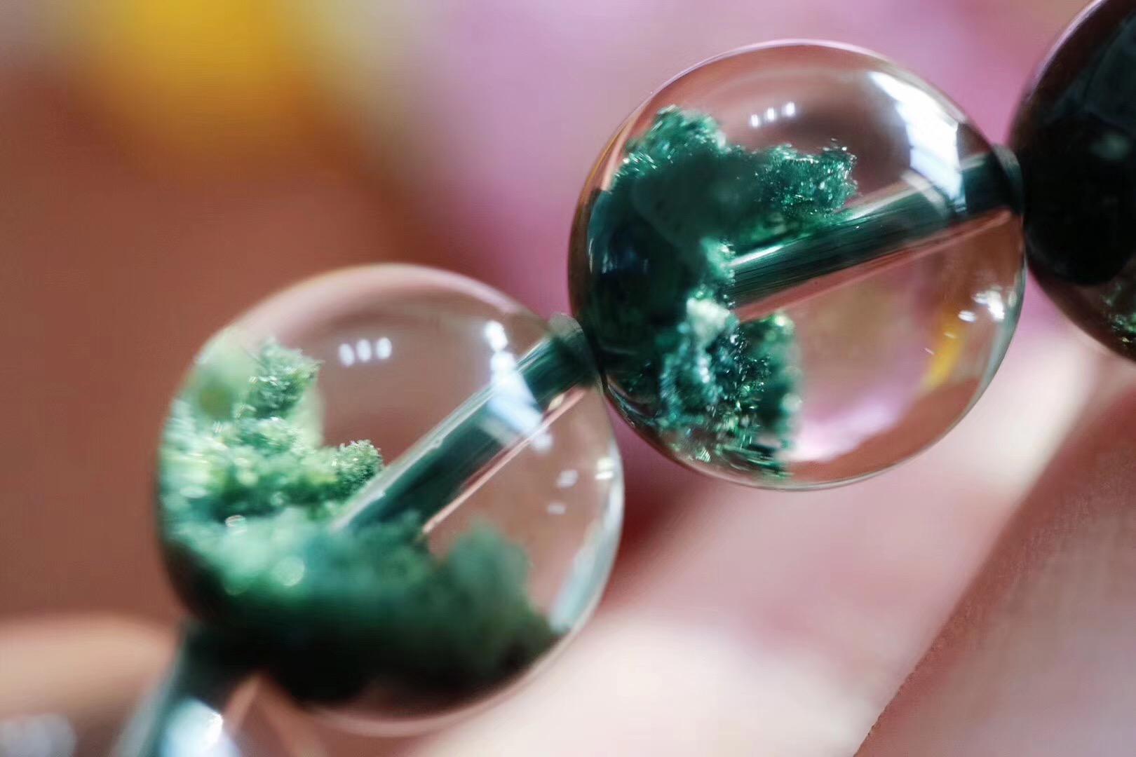 【绿幽灵聚宝盆】 来自大自然中赏心悦目的山水画~-菩心晶舍