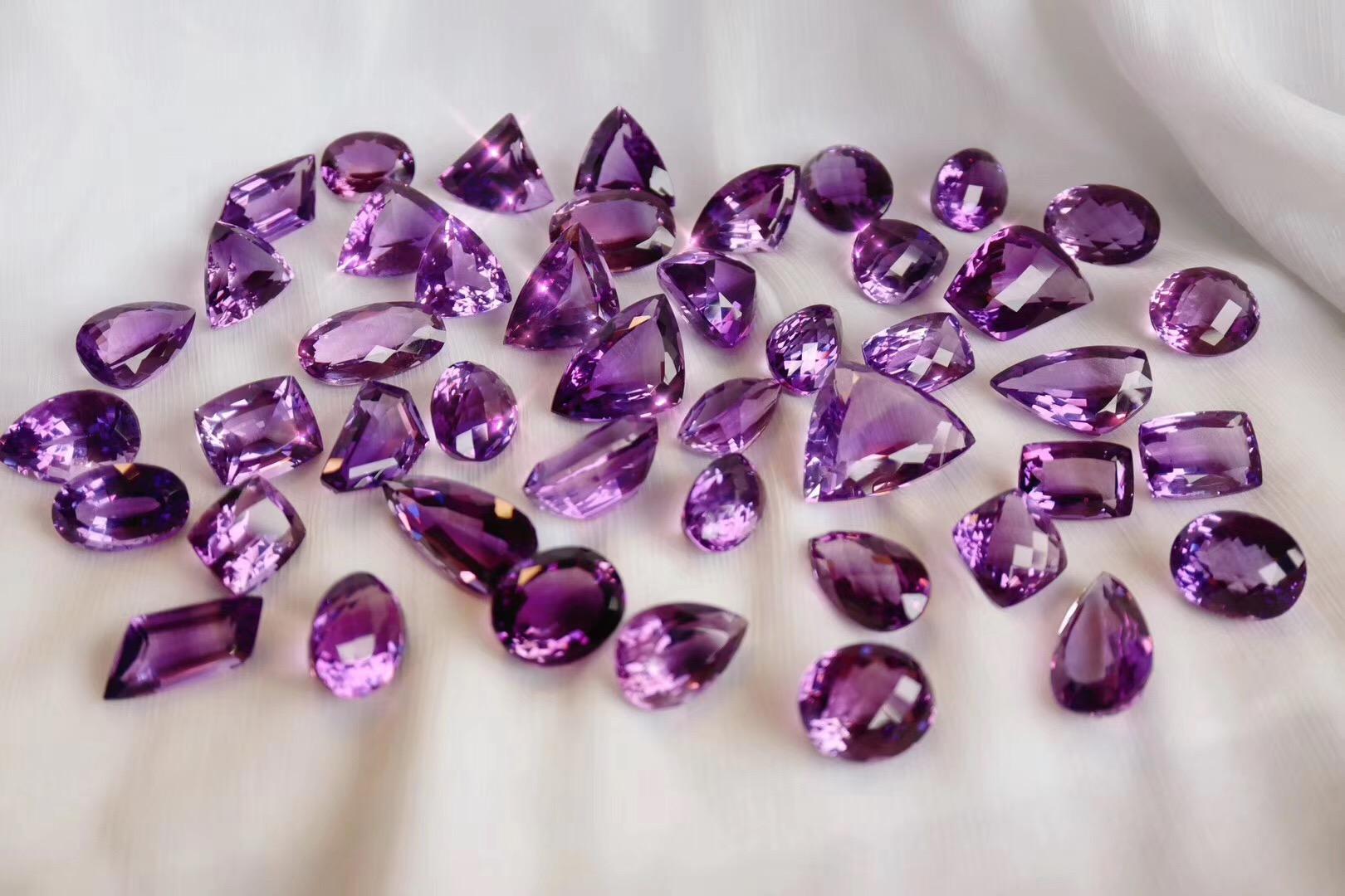 【紫水晶】菩心到了一波全净体的大紫晶-菩心晶舍