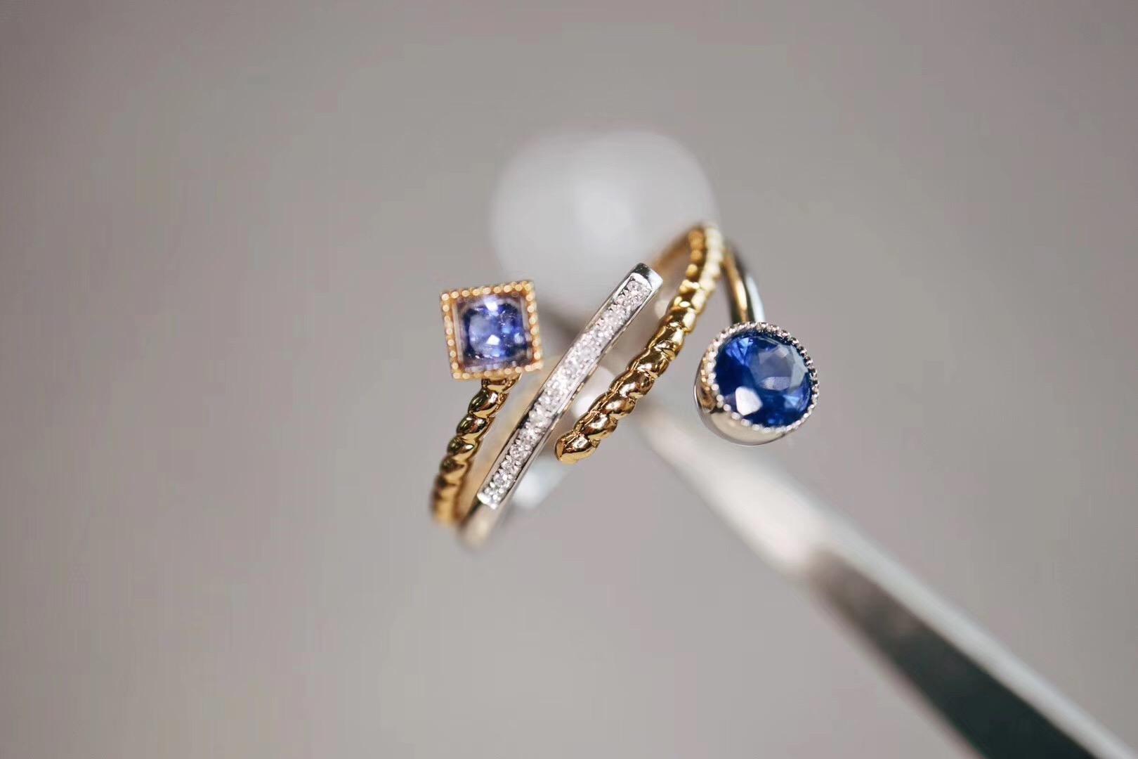 【蓝宝石(皇家蓝 无烧)】透着满满的气质-菩心晶舍