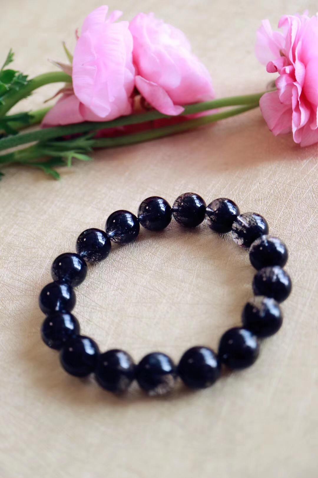 【黑发晶聚宝盆】黑发晶的身上,有种特别酷的现代感-菩心晶舍
