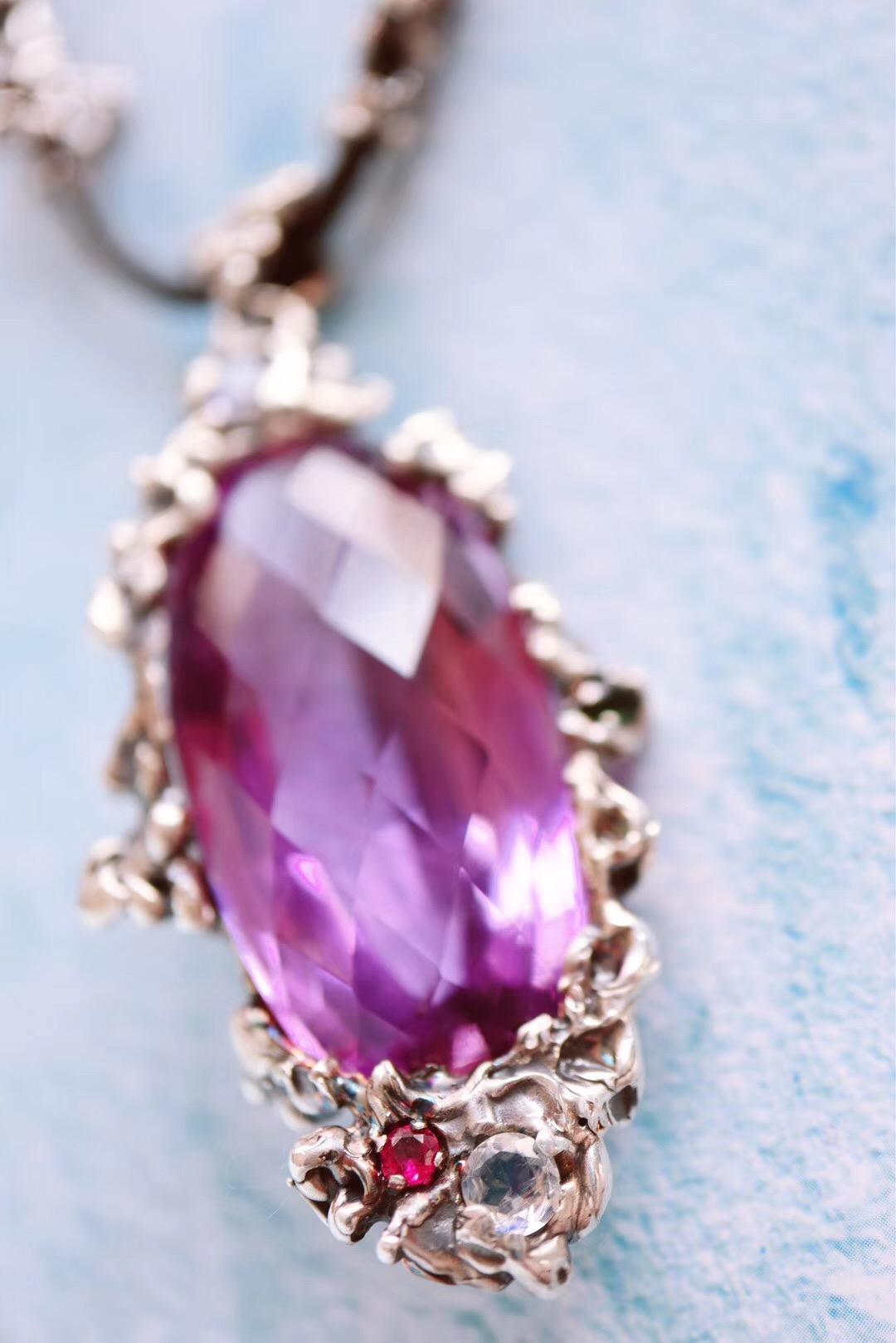 【紫晶】别忘了戴上这仙气腾腾的紫水晶-菩心晶舍