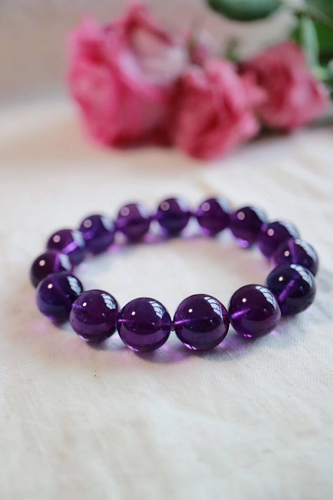 【 紫水晶】一场紫色的梦,漫天花开-菩心晶舍