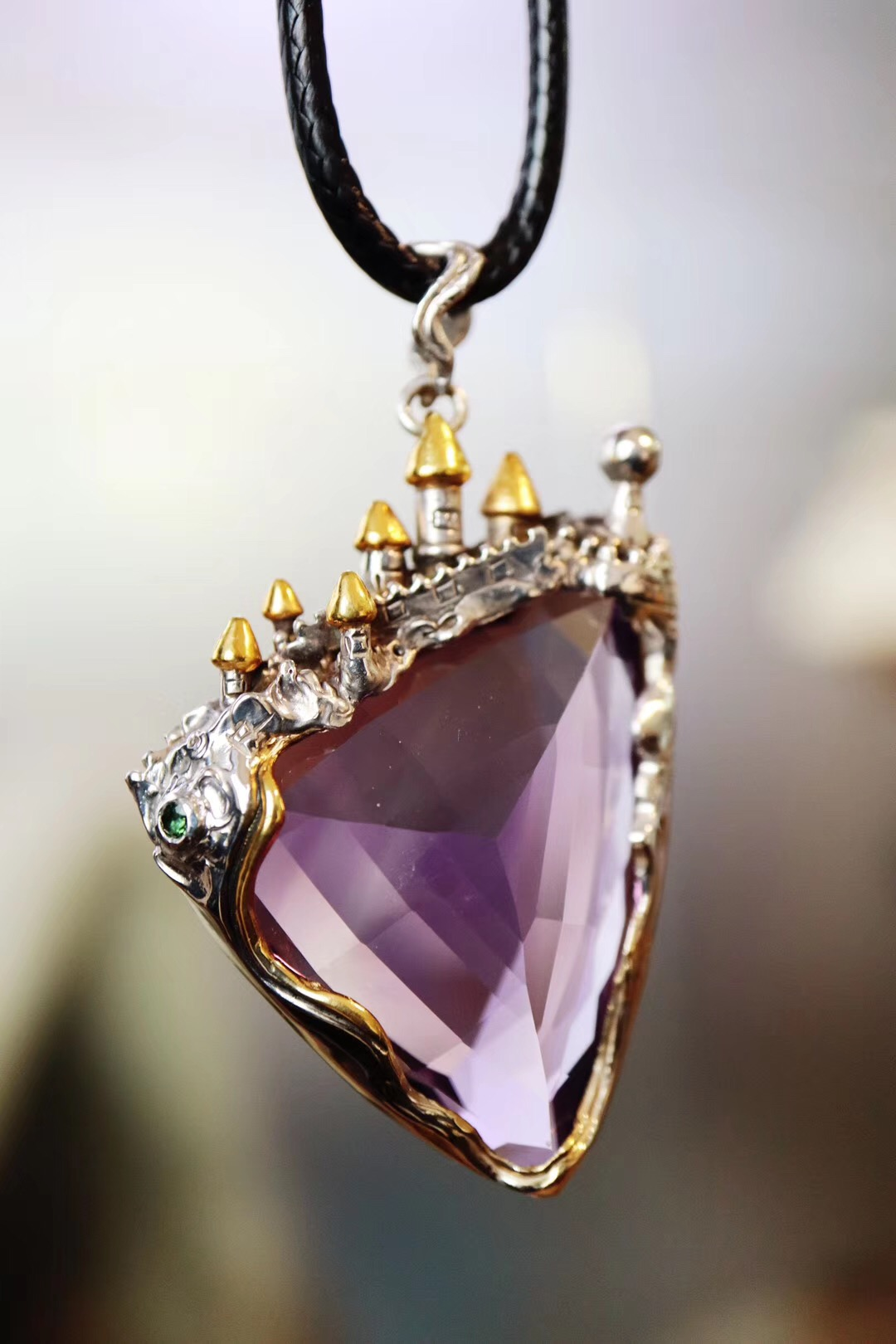【紫晶&童话城堡】因为相信,所以看见-菩心晶舍