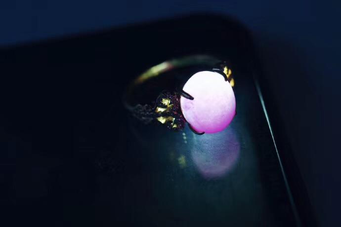 【菩心-舒俱来戒指】舒俱来的樱花粉,真是人间尤物。-菩心晶舍