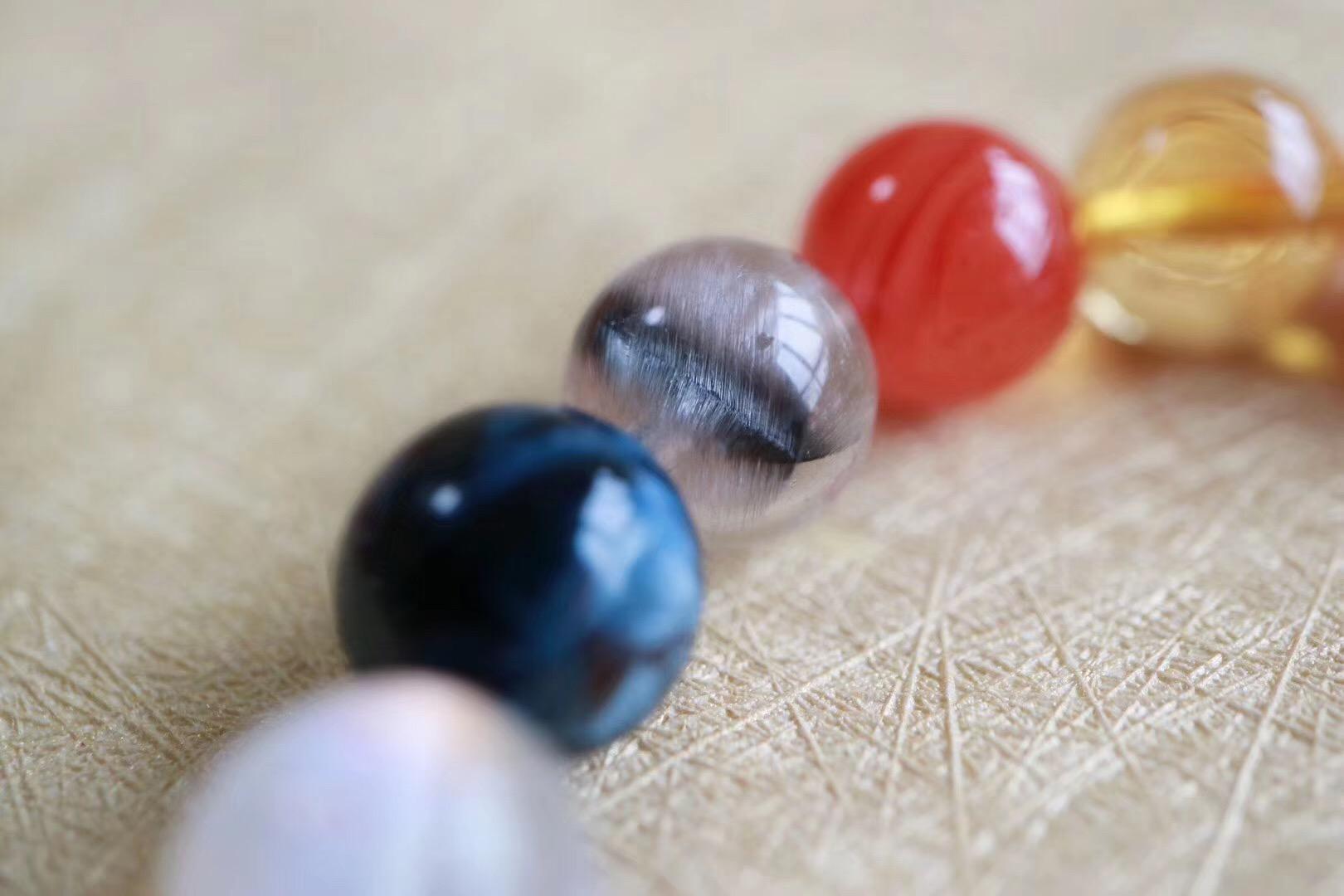 【菩心  多宝】非常好运,平衡、疏通人体所有七个脉轮的能量-菩心晶舍