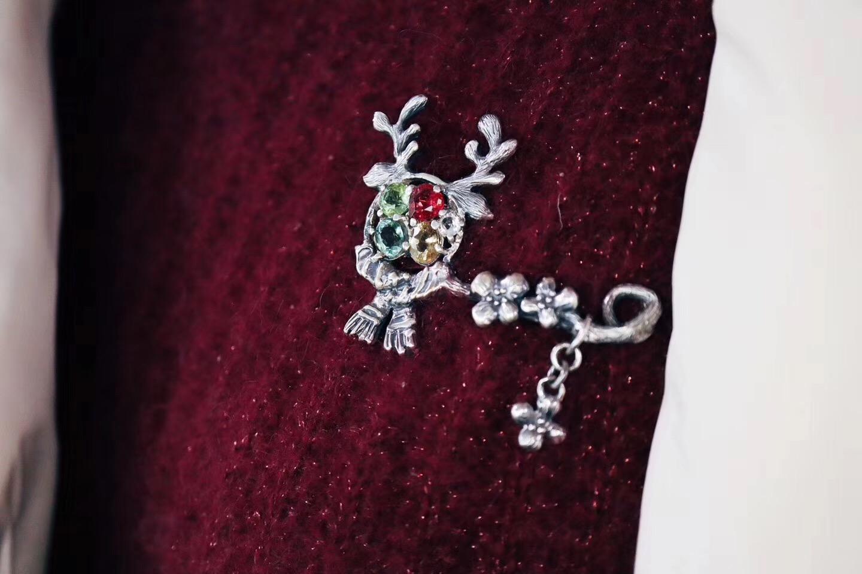 【碧玺胸针】戴上菩心的胸针,🌈ᑋᵉᑊᑊᵒ ᵕ̈✨ ◡̈ 解锁新的一年-菩心晶舍
