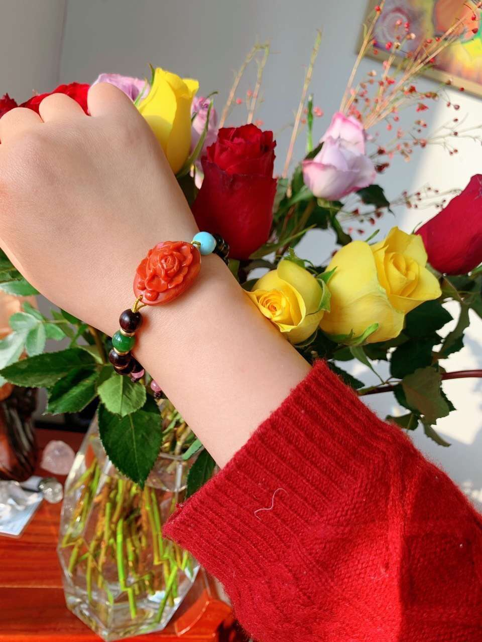 【古风南红】 等待一场姹紫嫣红的花事-菩心晶舍