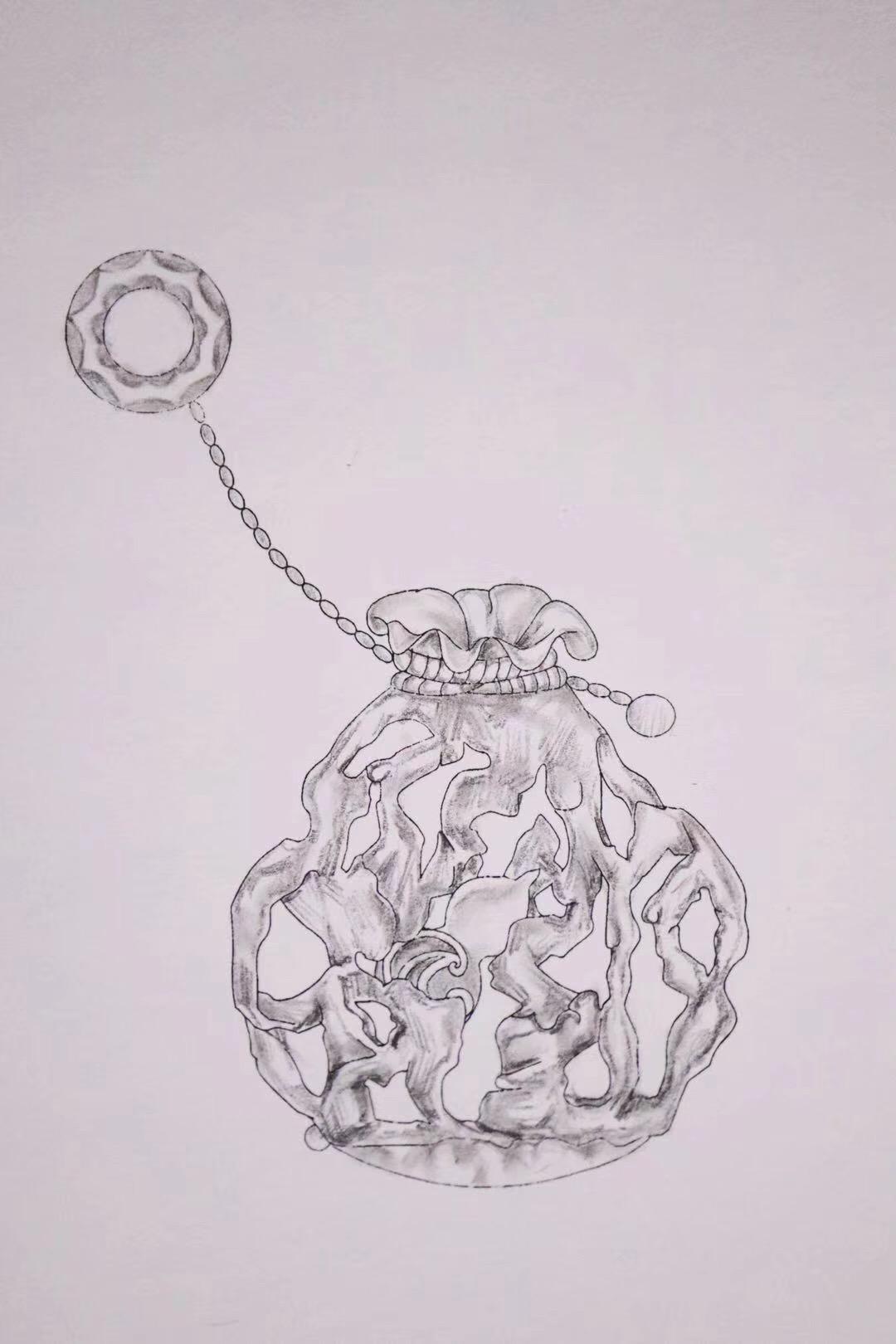 目前是蛋型,最后会变成设计图的样子-菩心晶舍
