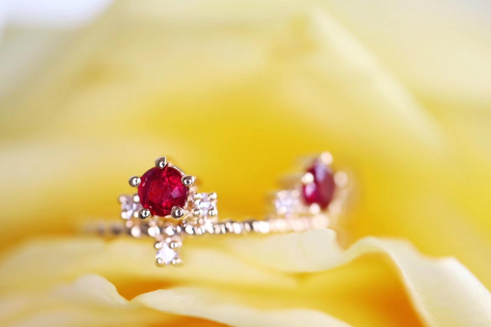 【红宝石戒指】网络里有女王,而童话里有公主-菩心晶舍