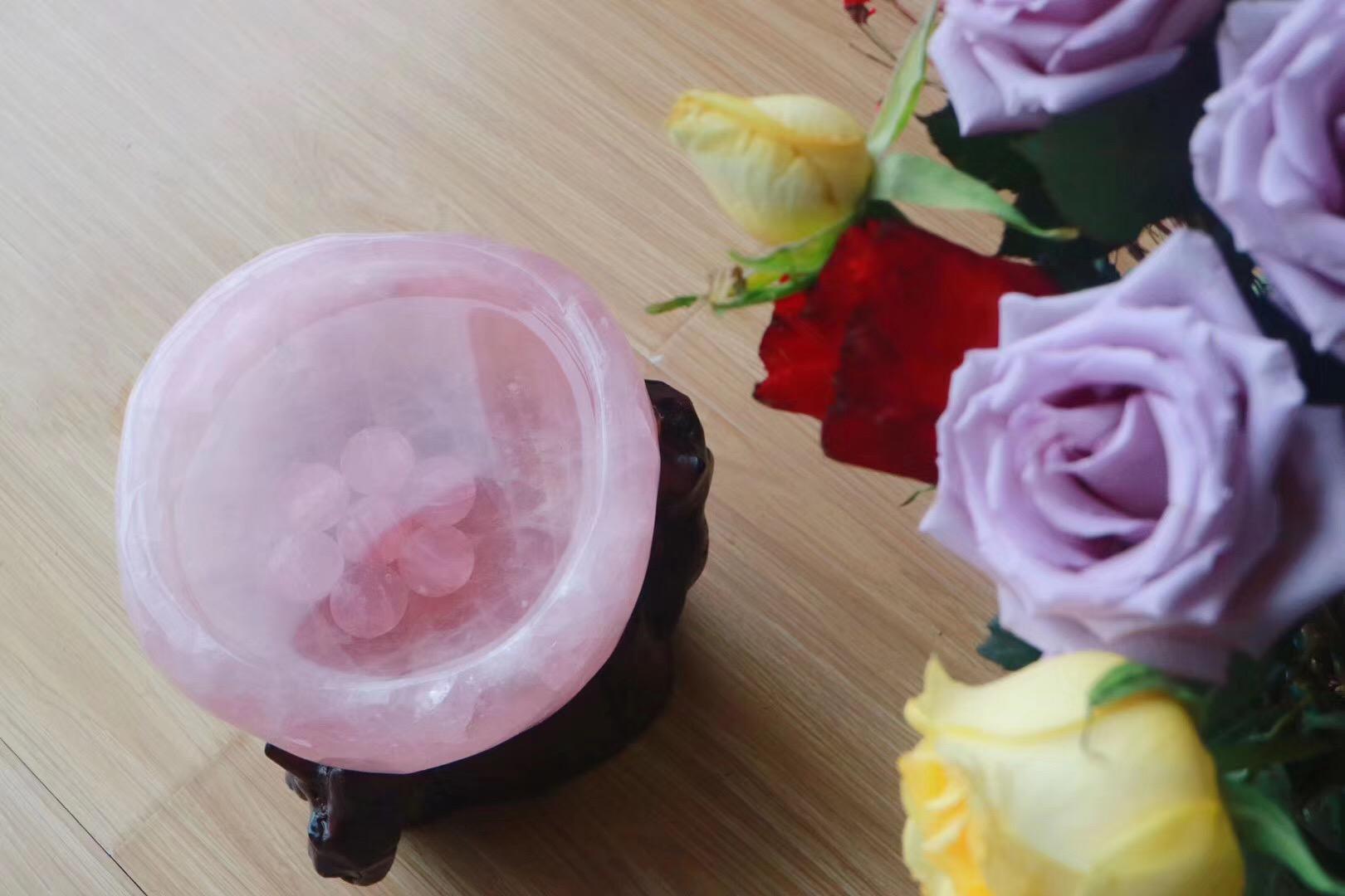 【粉晶聚宝盆】心轮的疗愈基础石-菩心晶舍