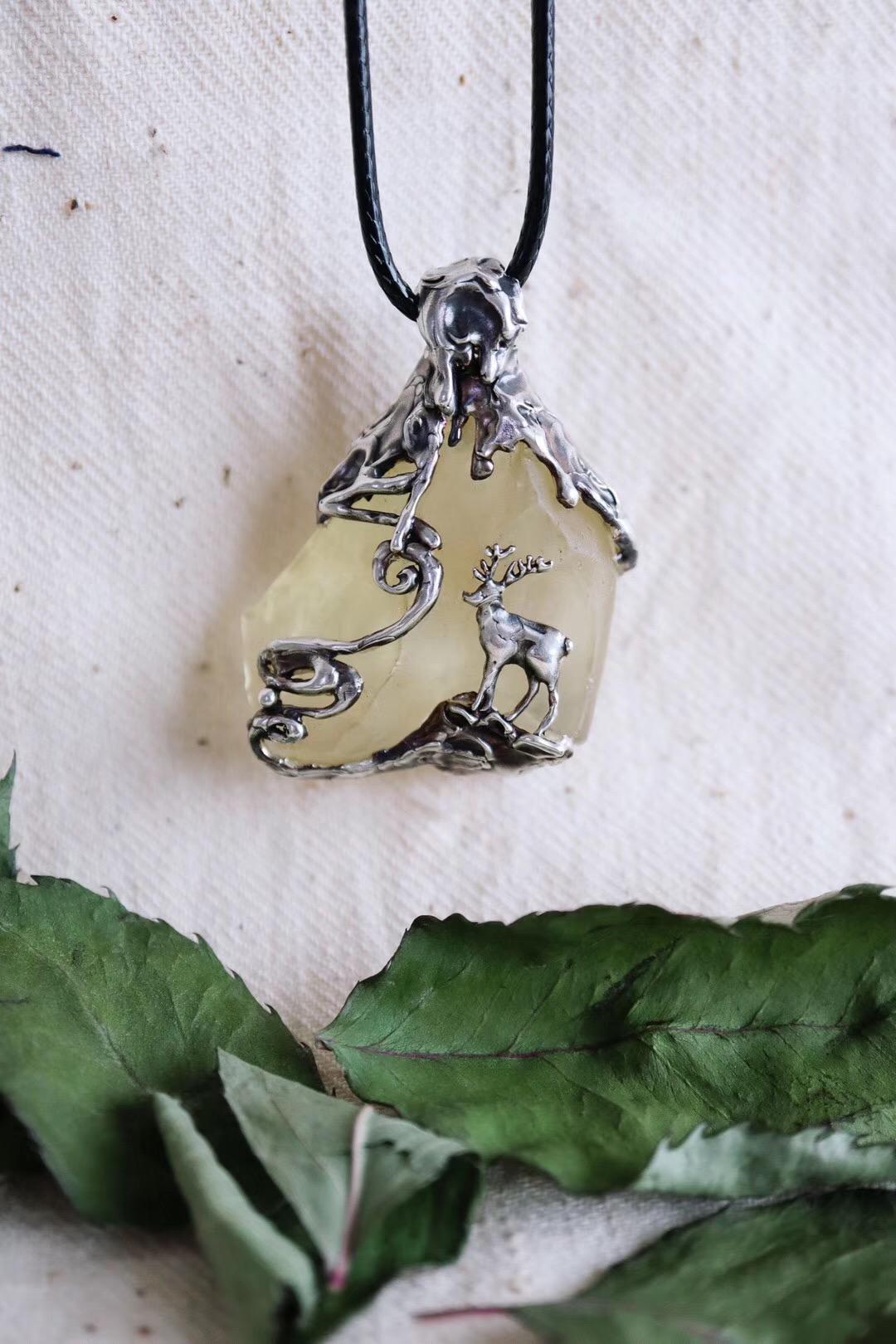 【利比亚黄金陨石】你唤我梦醒,便可见鹿,见鲸,亦见你-菩心晶舍