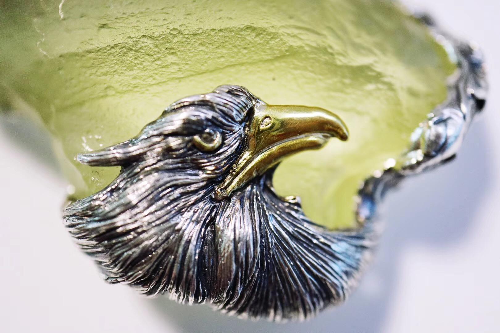 【利比亚黄金陨石】嗯!要有鹰🦅的精神-菩心晶舍