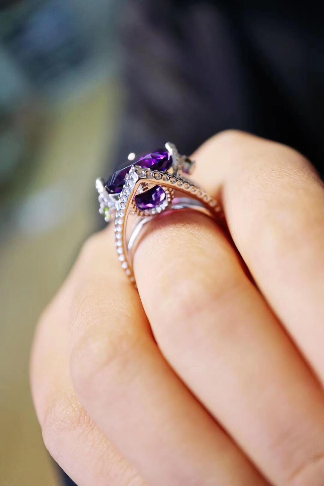 【紫晶】最完美的归宿,便是合适他的镶嵌-菩心晶舍