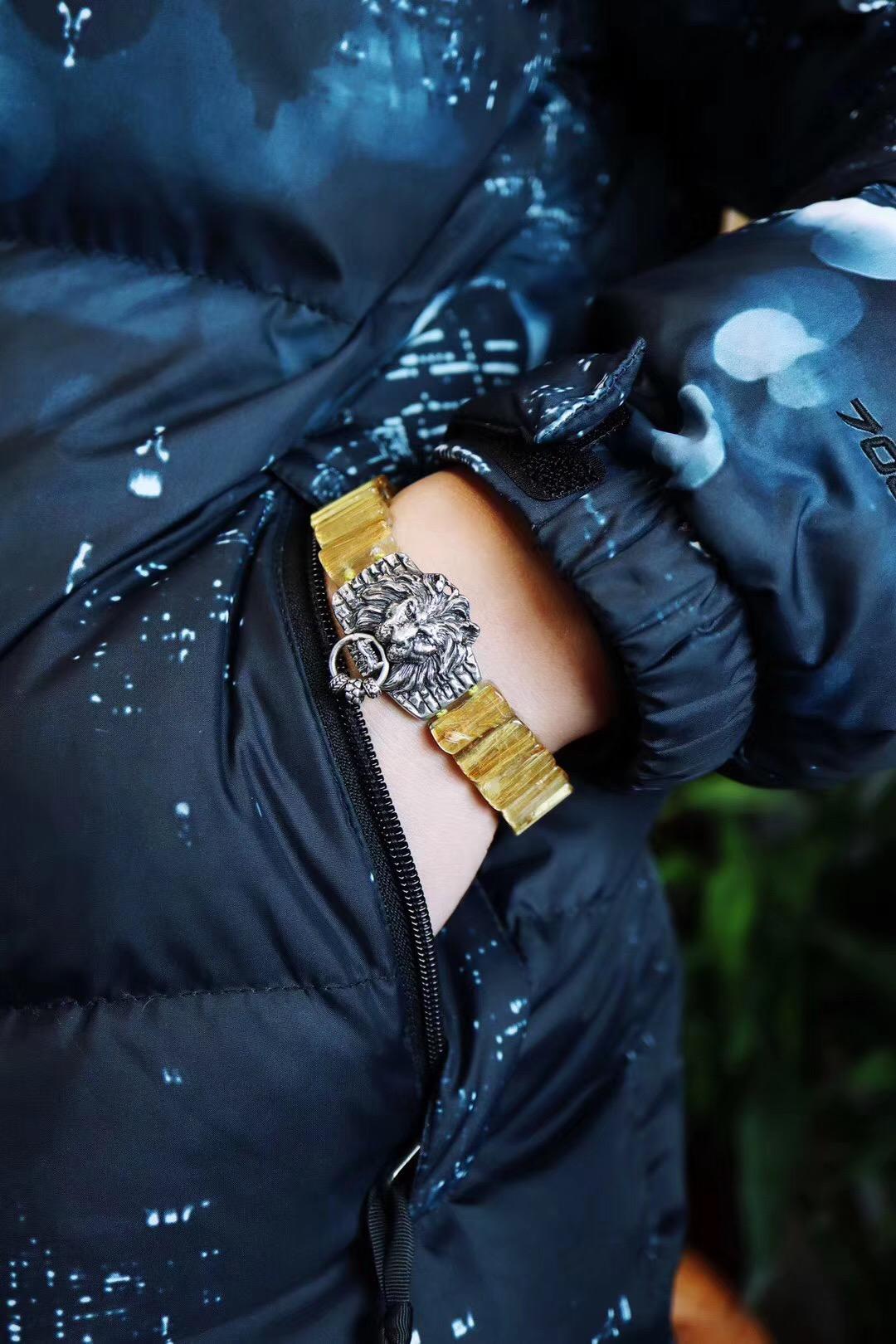【钛晶手牌】钛晶,佩戴可增强人的主动性和执行力-菩心晶舍