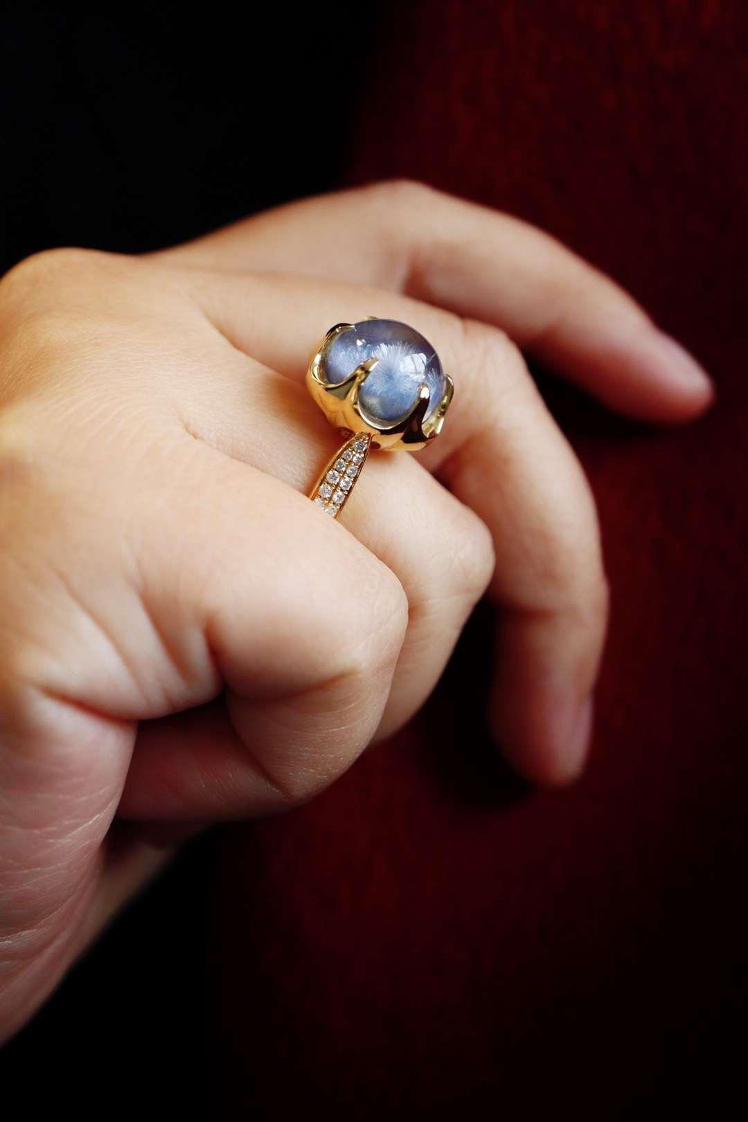 【蓝发晶】让我们在美好里学会慢慢静心感受生活的分分秒秒-菩心晶舍