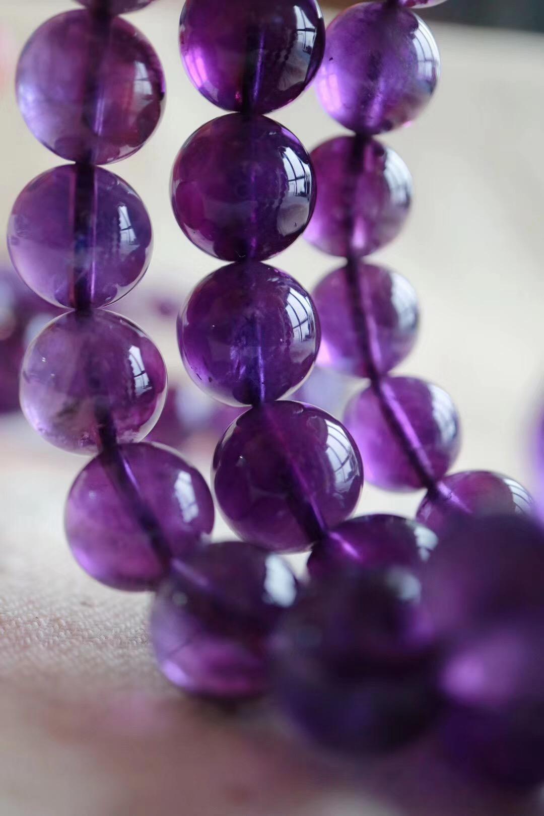 【紫水晶】紫水晶代表高层次的爱意,神秘而浪漫-菩心晶舍