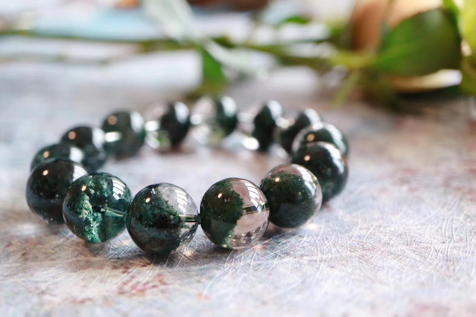 【绿幽灵】助事业的心轮晶石,可疗愈心脏和肝-菩心晶舍