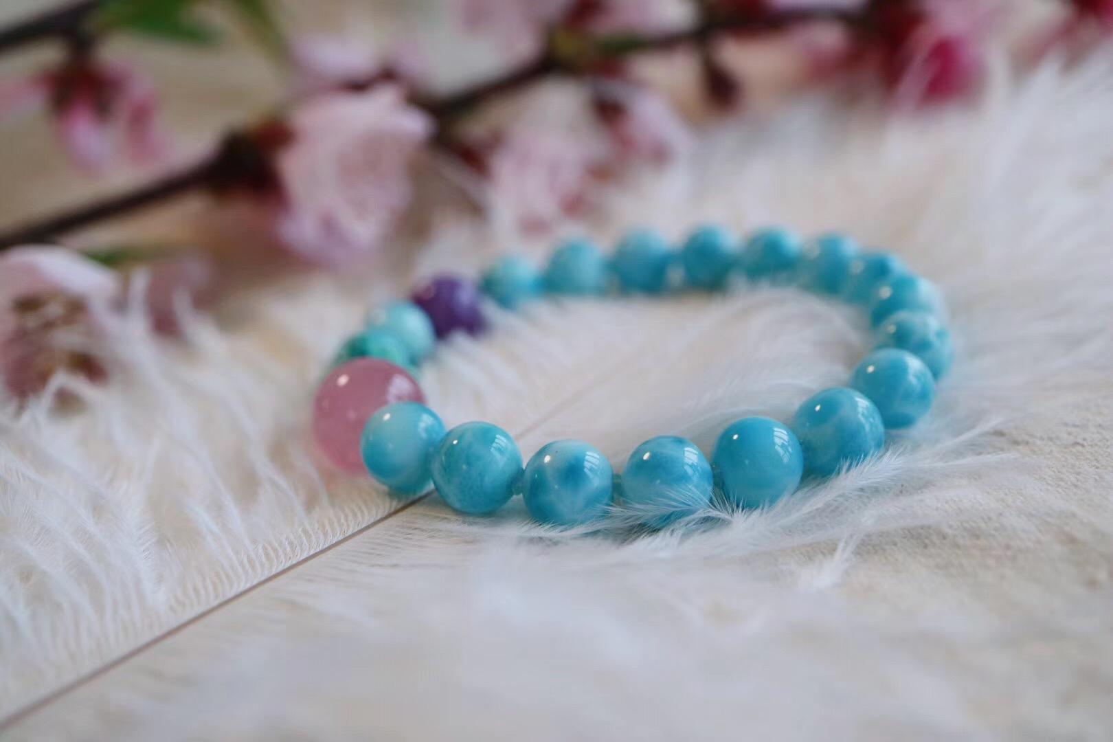 【 海纹石】柔和的色彩具有治愈效果-菩心晶舍