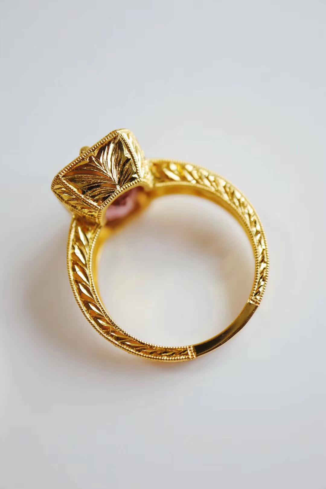 【碧玺】关于这款戒指的细节,绝对是满分+-菩心晶舍