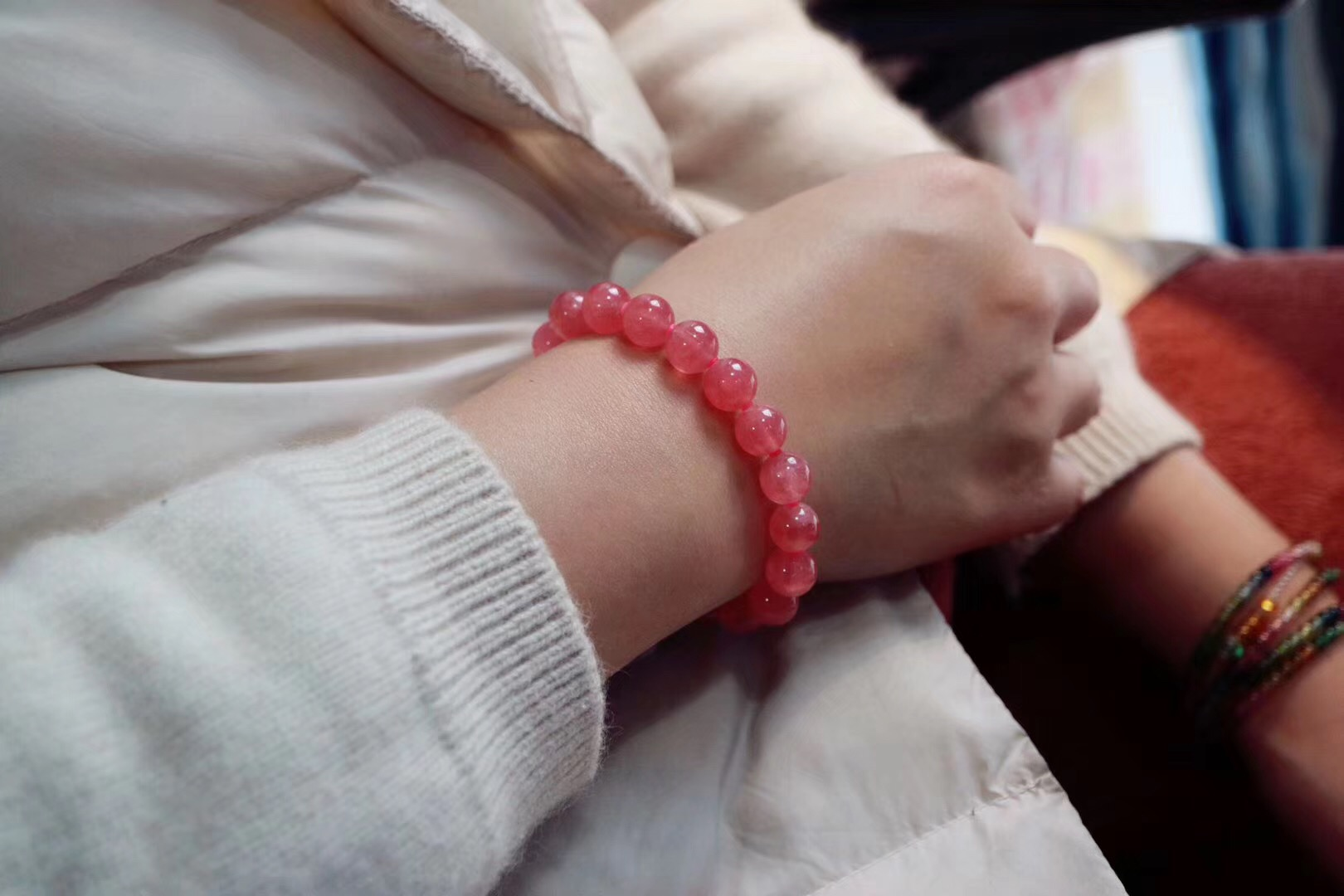 【红纹石】 我想让世间种万姿态皆化为眉你宇间风的情 -菩心晶舍