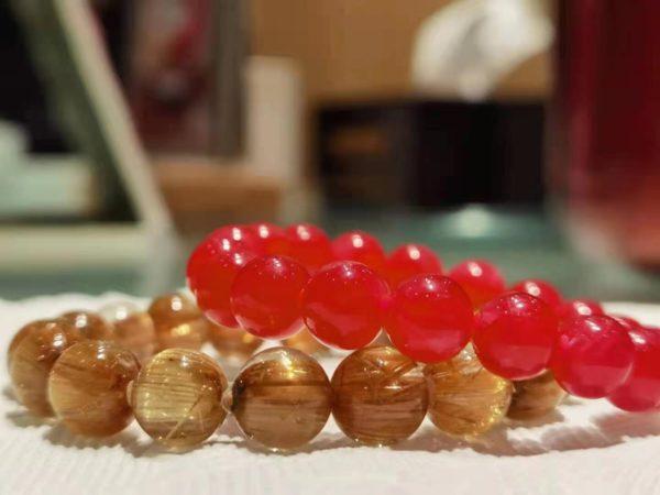 【客户返图】钛晶、红纹石返图,菩心老粉的标配-菩心晶舍