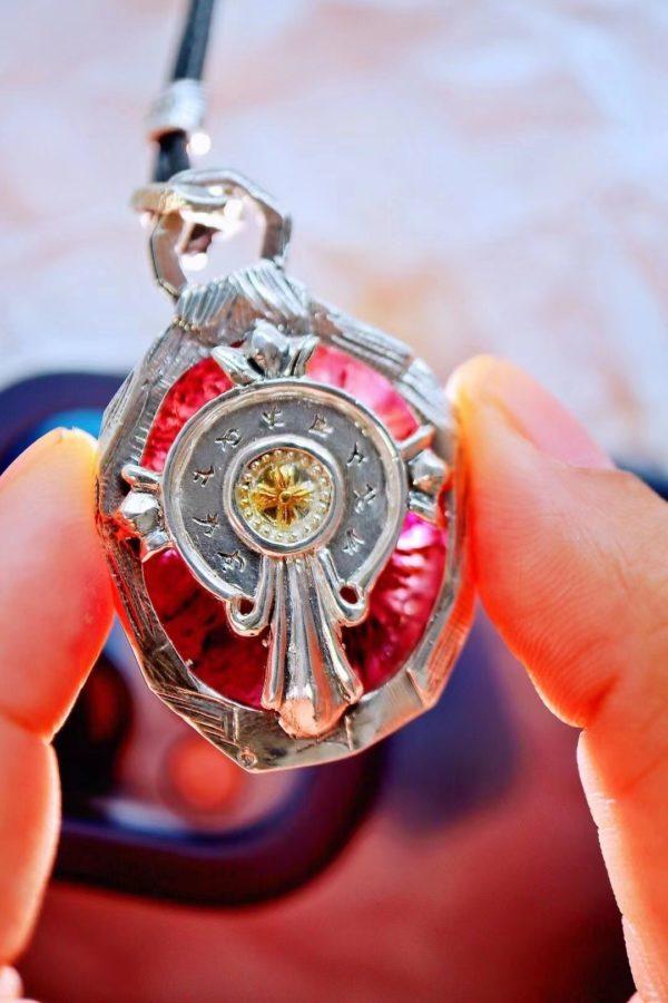 极光23,温和的紫光和黄光能给人的心灵注入和谐的动力-菩心晶舍
